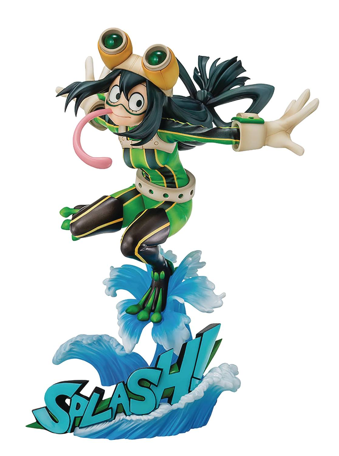 MY HERO ACADEMIA TSUYU ASUI 1/8 PVC FIG HERO SUIT VER