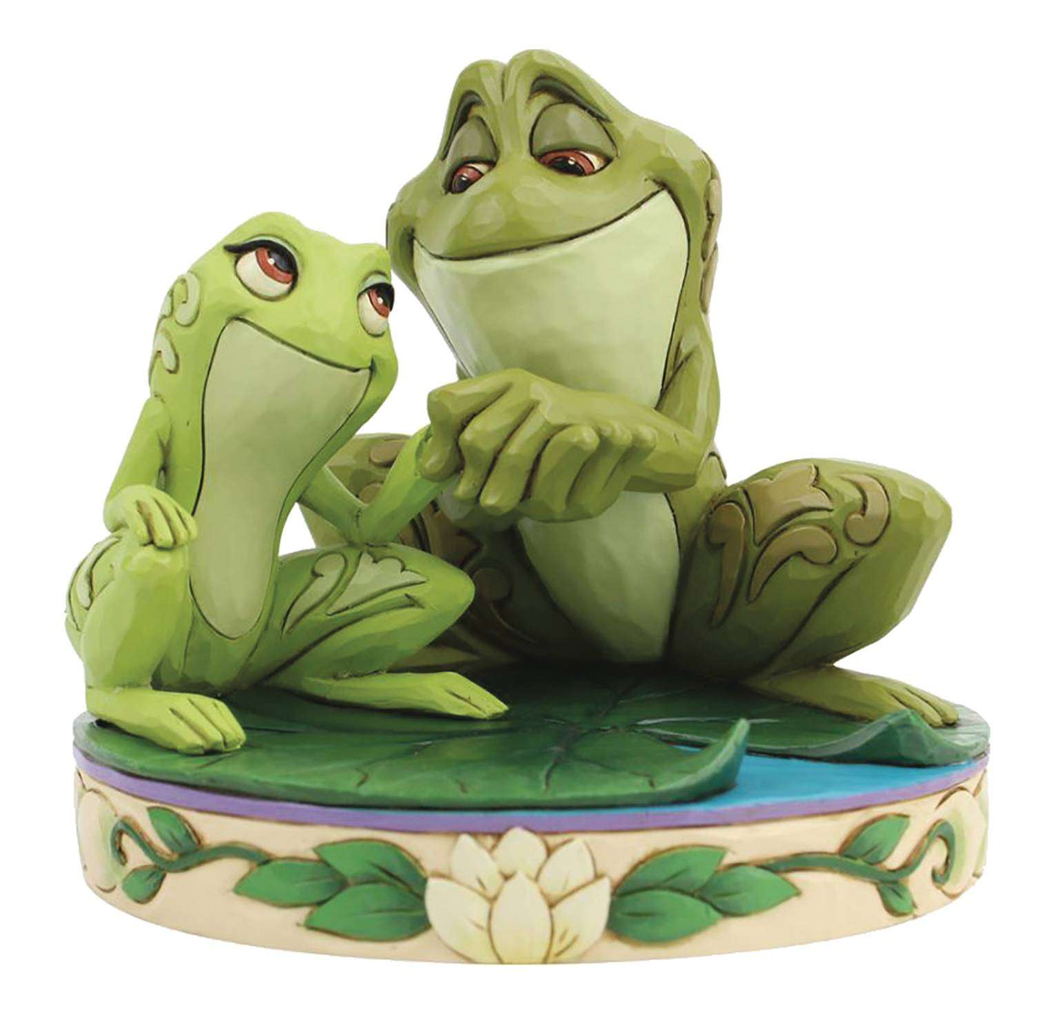 DISNEY SHOWCASE TIANA AND NAVEEN AS FROGS FIGURE