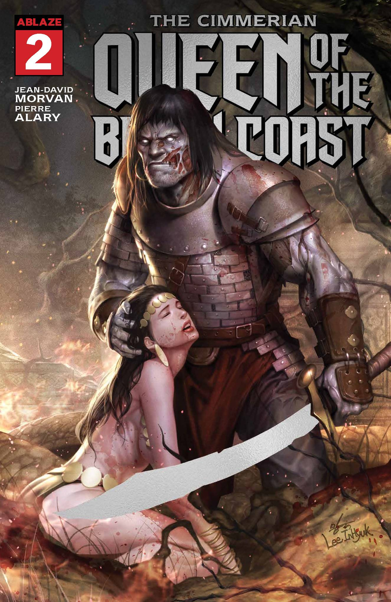 CIMMERIAN QUEEN BLACK COAST #2 FREE 10 COPY INCV CVR (Net) (