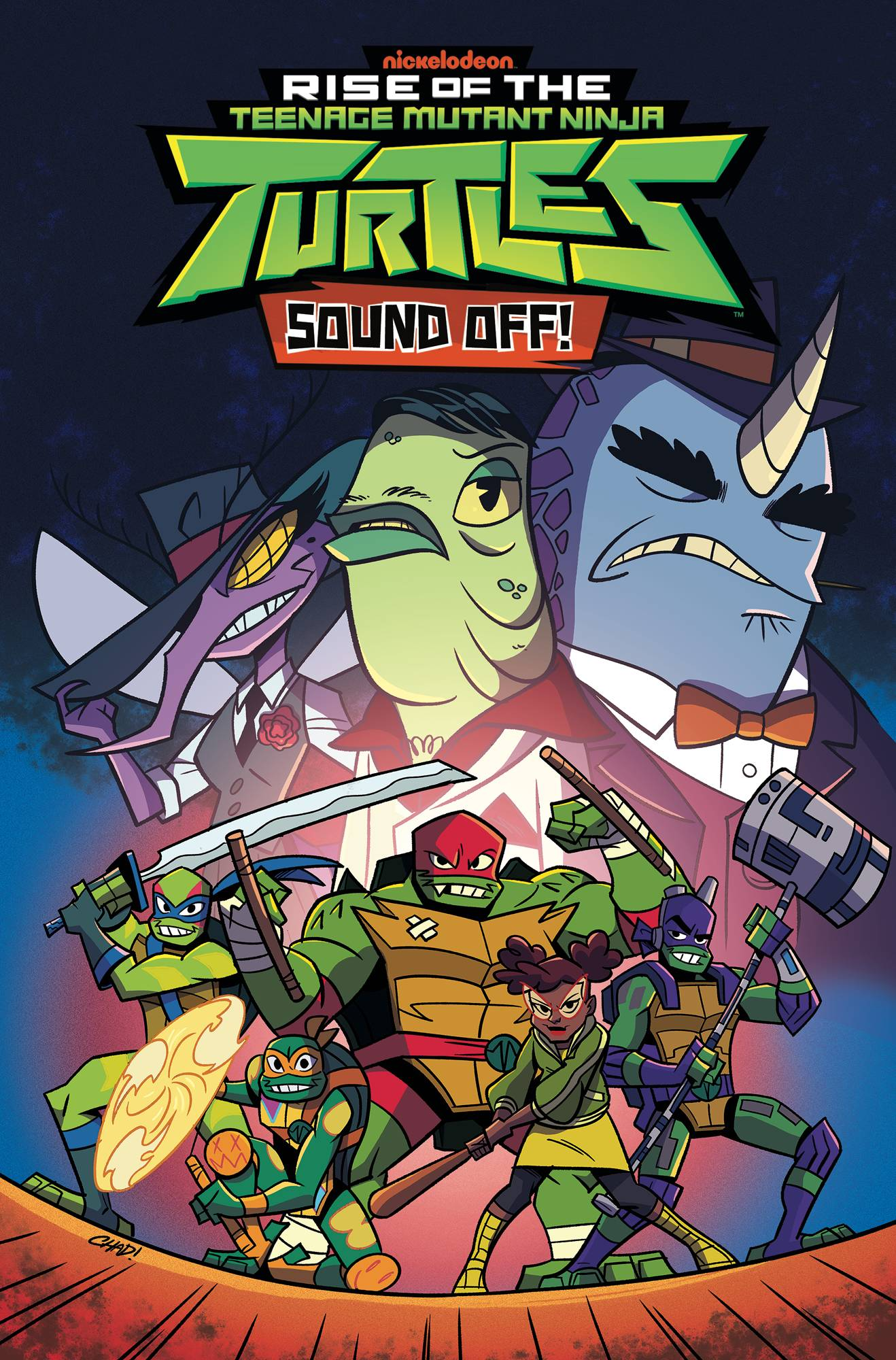 TMNT RISE OF THE TMNT TP VOL 03 SOUND OFF