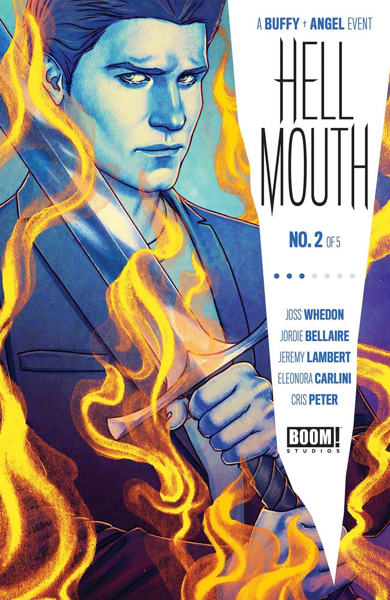 BUFFY VAMPIRE SLAYER ANGEL HELLMOUTH #2 CVR A FRISON