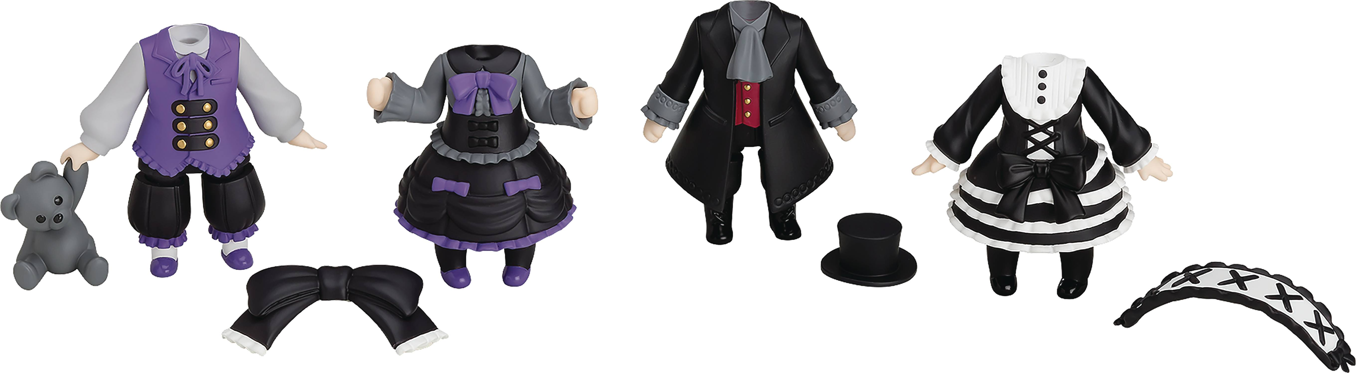 NENDOROID MORE DRESS UP GOTHIC LOLITA 4PC BMB DS