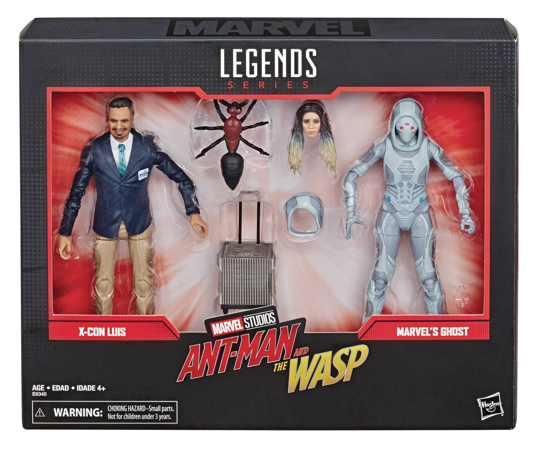 MARVEL LEGENDS 80TH ANN GHOST/LUIS 6IN AF SET CS