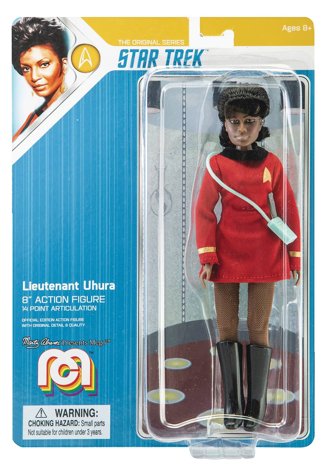 MEGO SCI-FI WAVE 5 STAR TREK UHURA 8IN AF