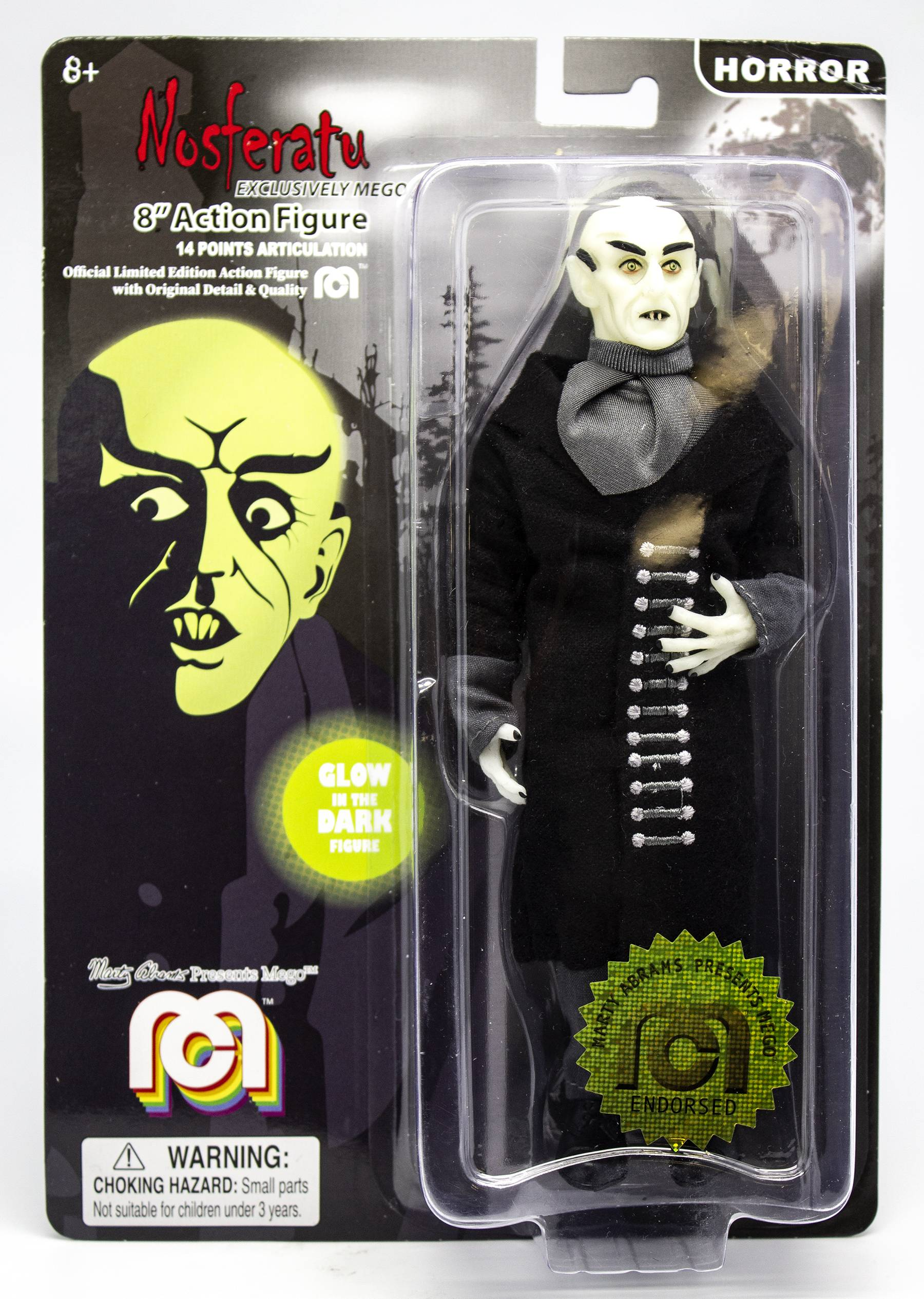 MEGO HORROR WAVE 6 NOSFERATU GID 8IN AF