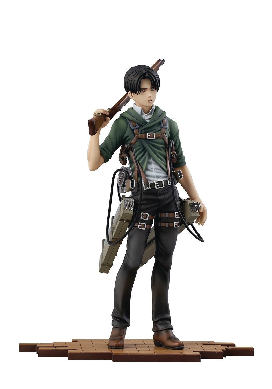ATTACK ON TITAN BRAVE ACT LEVI 1/8 PVC STATUE VER 2A  (