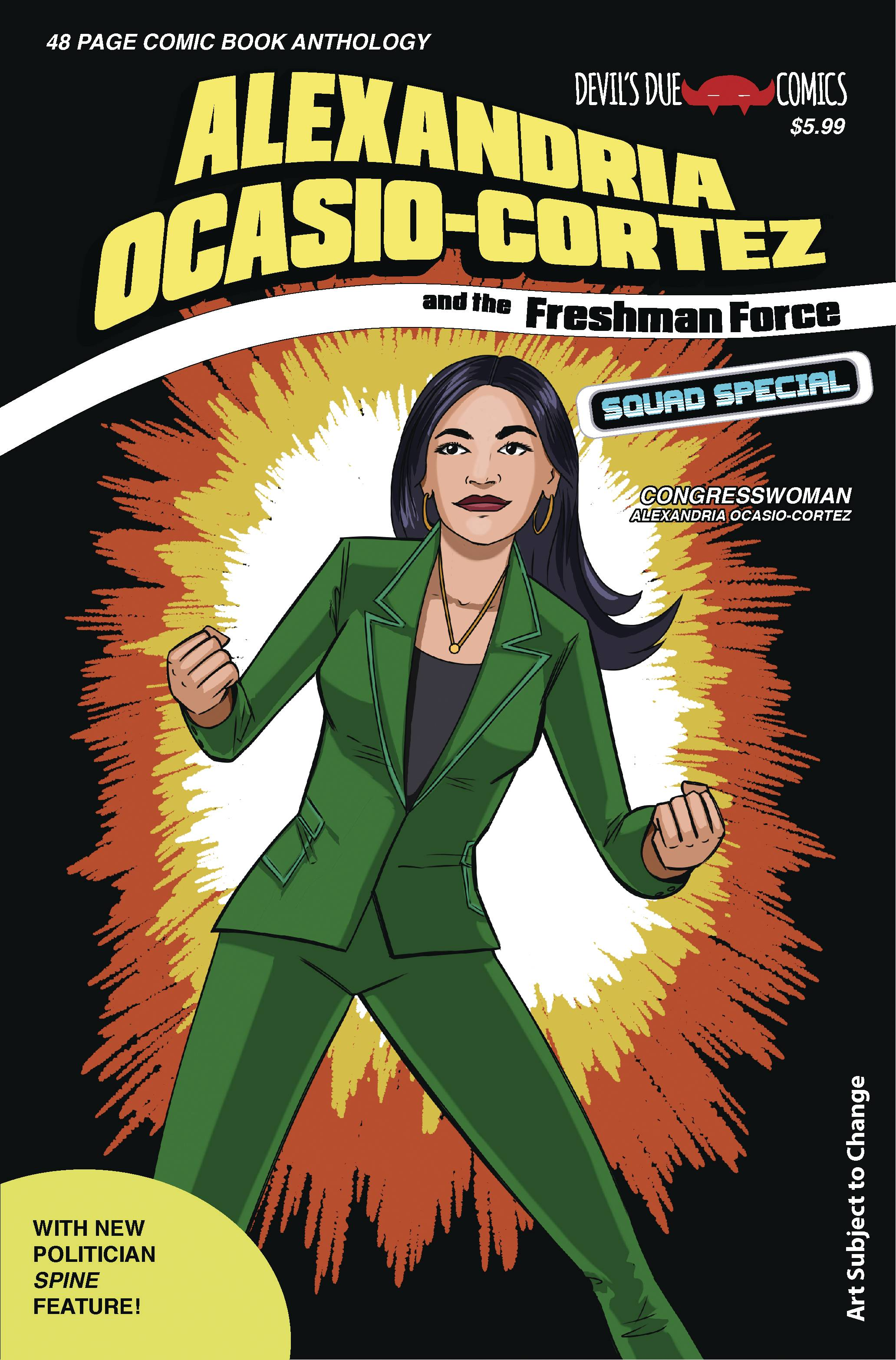 Oct191811 Aoc Freshman Force Squad 1 Cvr B Previews World Josh blaylock is the author of bunches and bunches of comics, including mercy sparx, g.i. aoc freshman force squad 1 cvr b