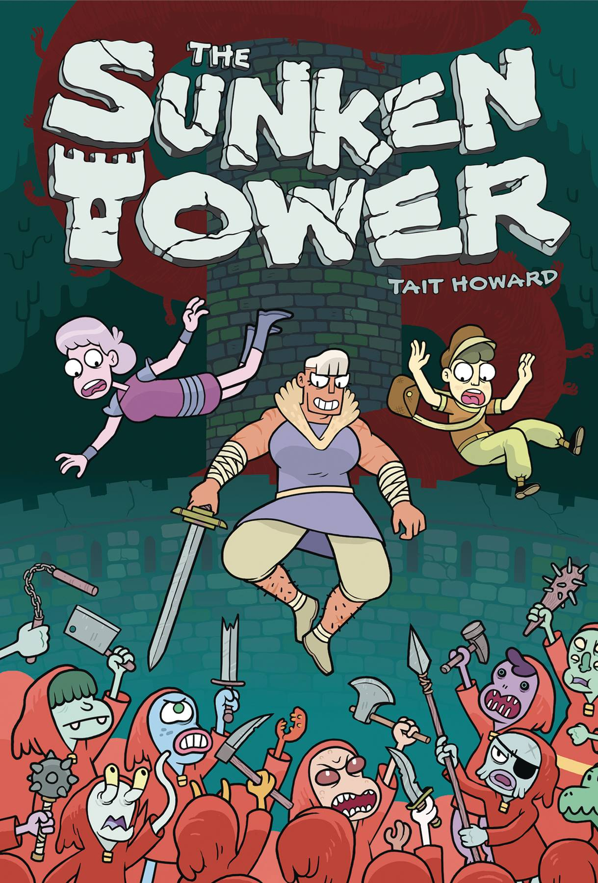 THE SUNKEN TOWER HC GN