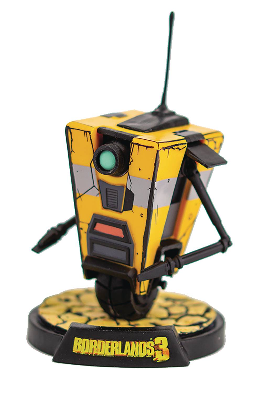 BORDERLANDS 3 CLAPTRAP 4IN VINYL FIG