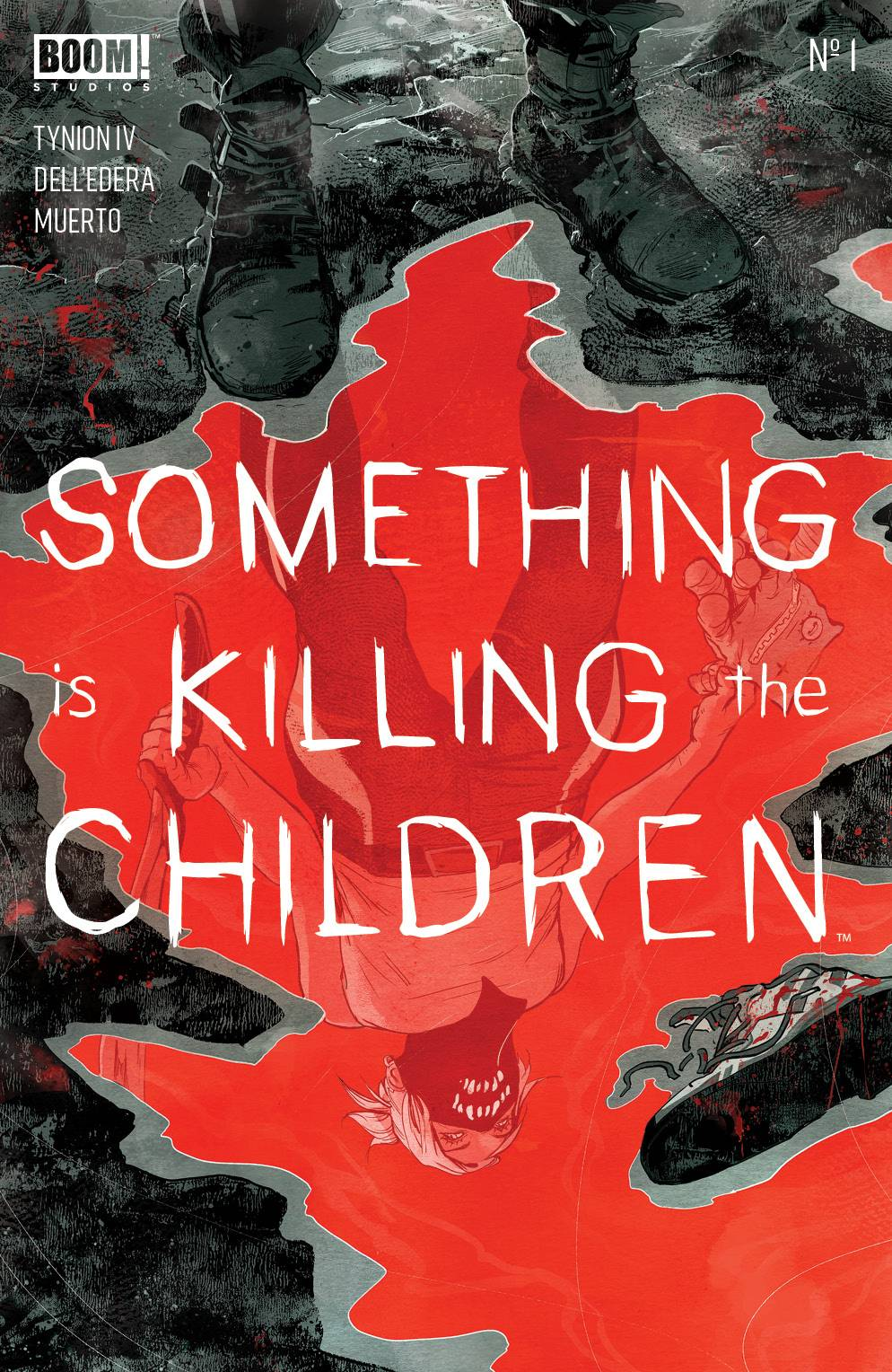(USE JUL198621) SOMETHING IS KILLING CHILDREN #1 (3RD PTG)