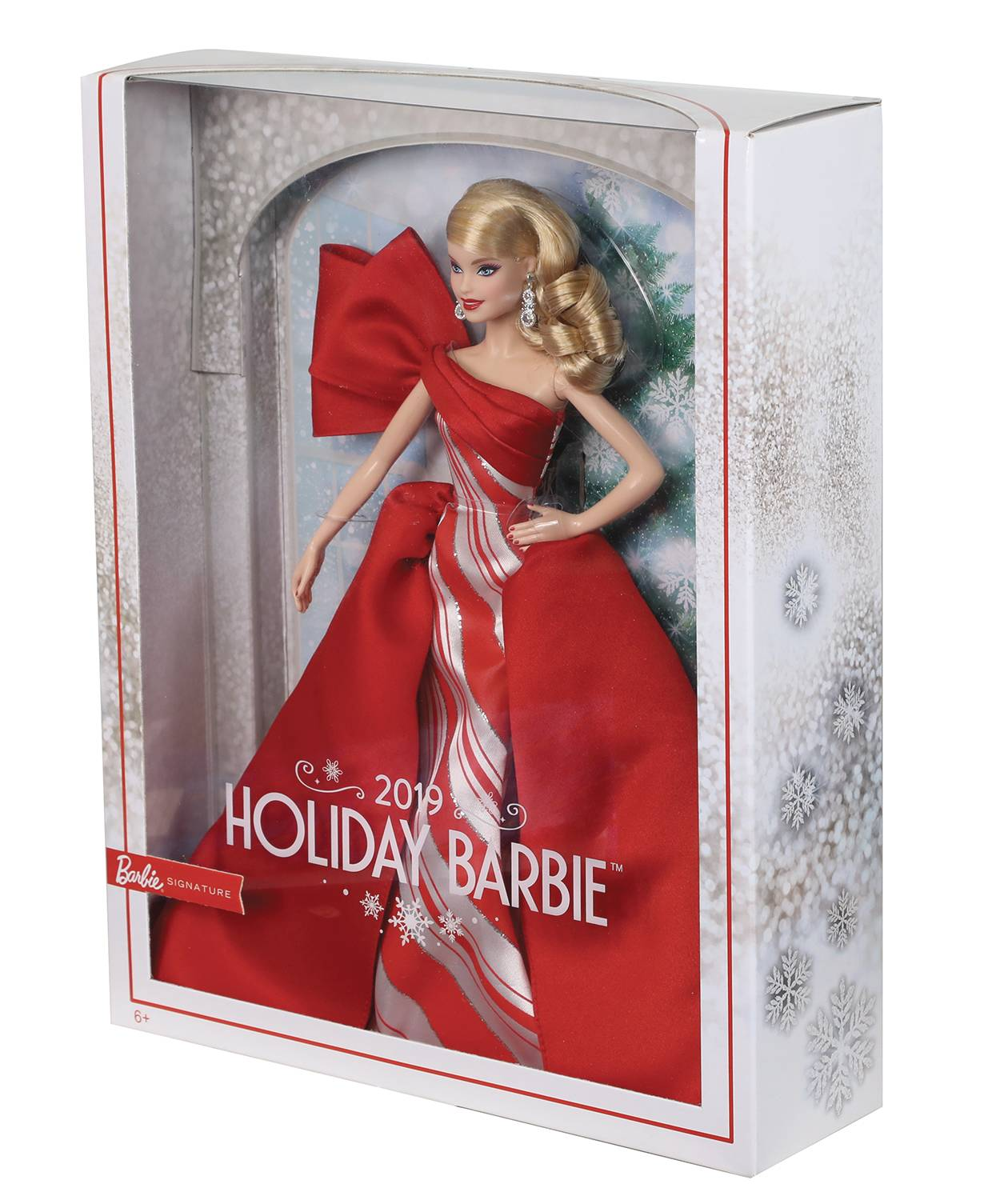 BARBIE 2019 HOLIDAY COLL DOLL CAUCASIAN VER CS