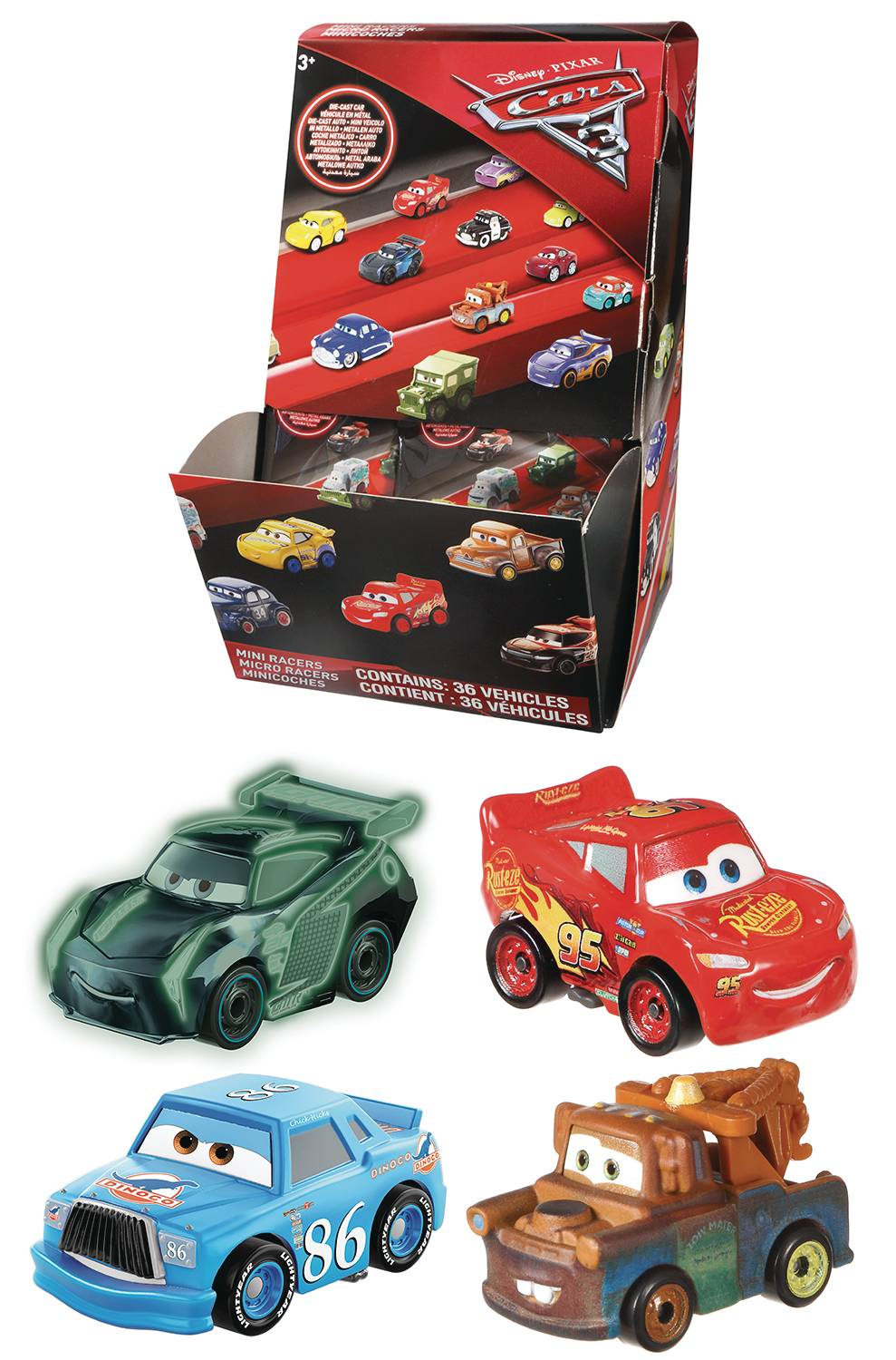 DISNEY/PIXAR CARS MINI RACERS BMB DIS