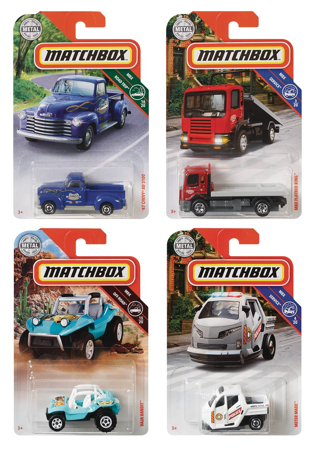 MATCHBOX 1/64 DIE-CAST SINGLE CAR ASST