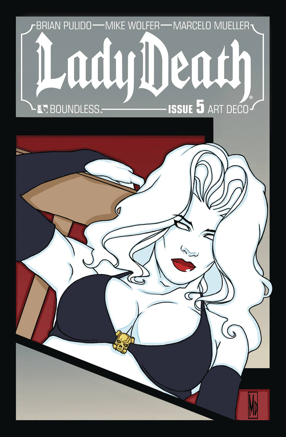 LADY DEATH #5 ART DECO VARIANT