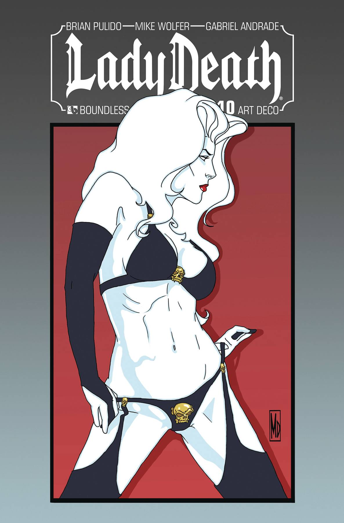 LADY DEATH #10 ART DECO VARIANT