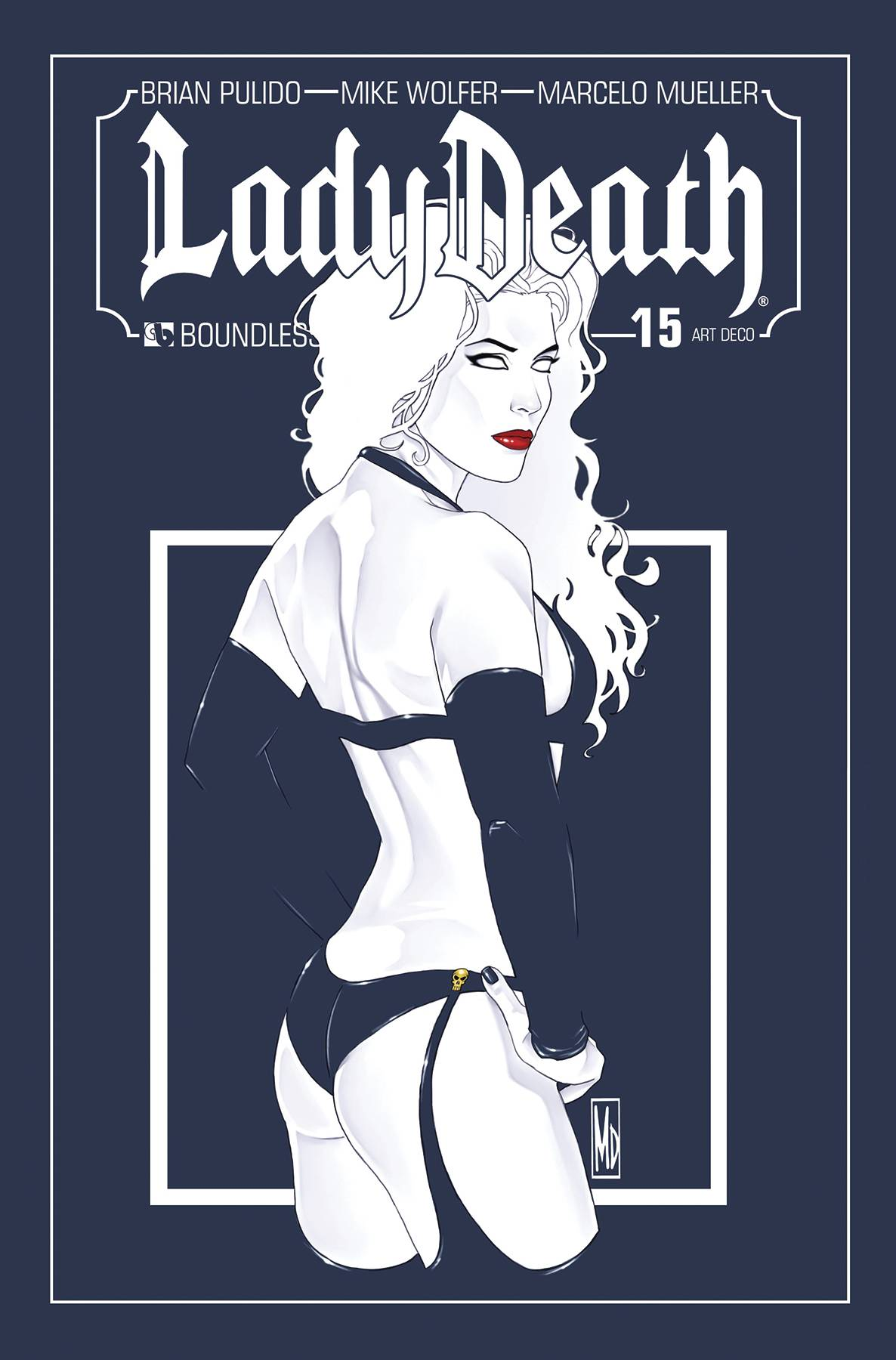 LADY DEATH #15 ART DECO VARIANT