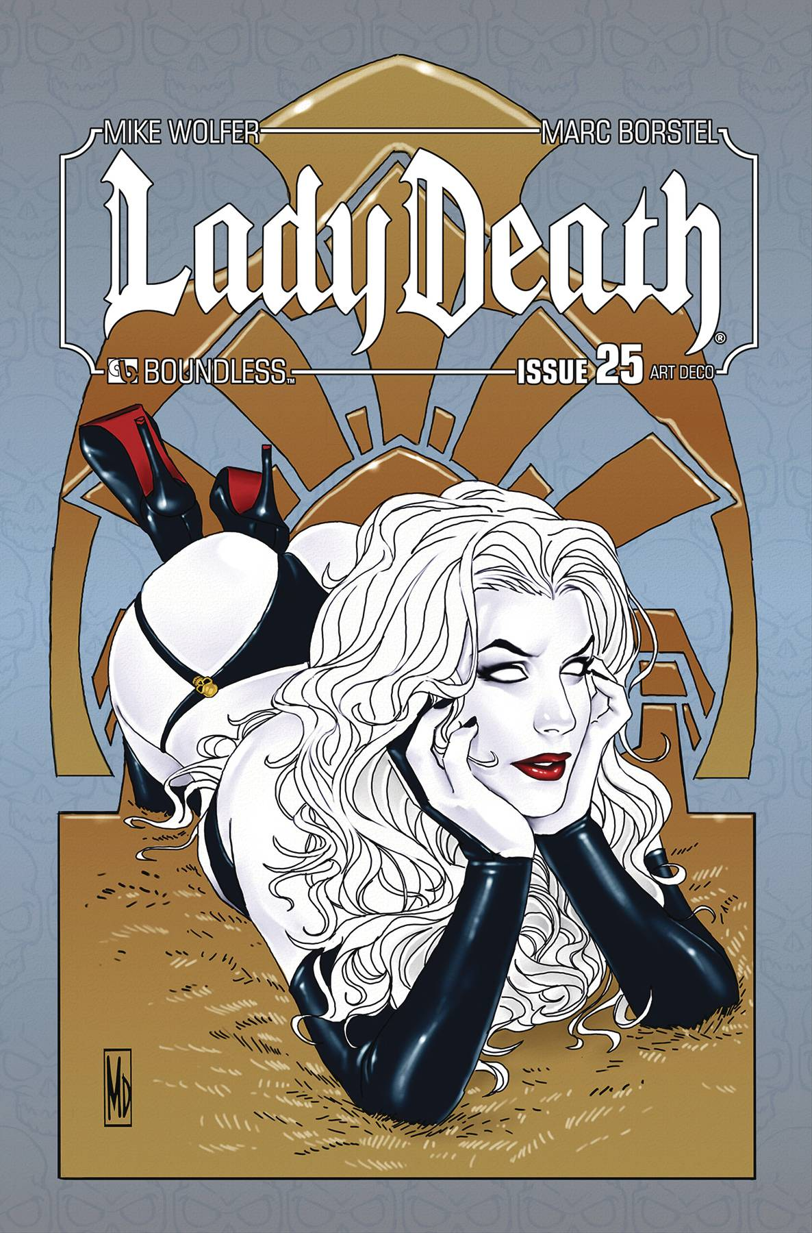 LADY DEATH #25 ART DECO VARIANT