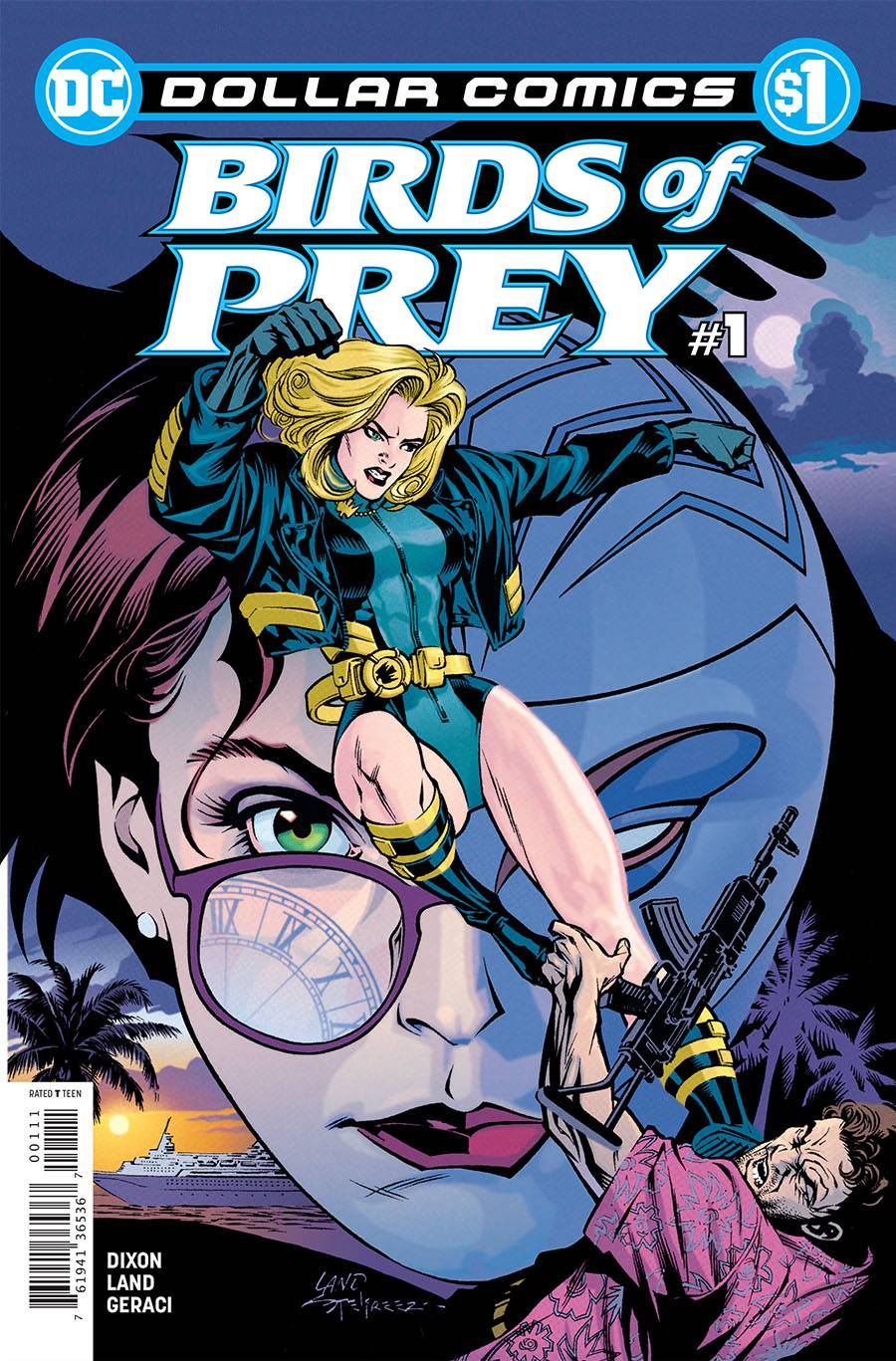 DOLLAR COMICS BIRDS OF PREY #1