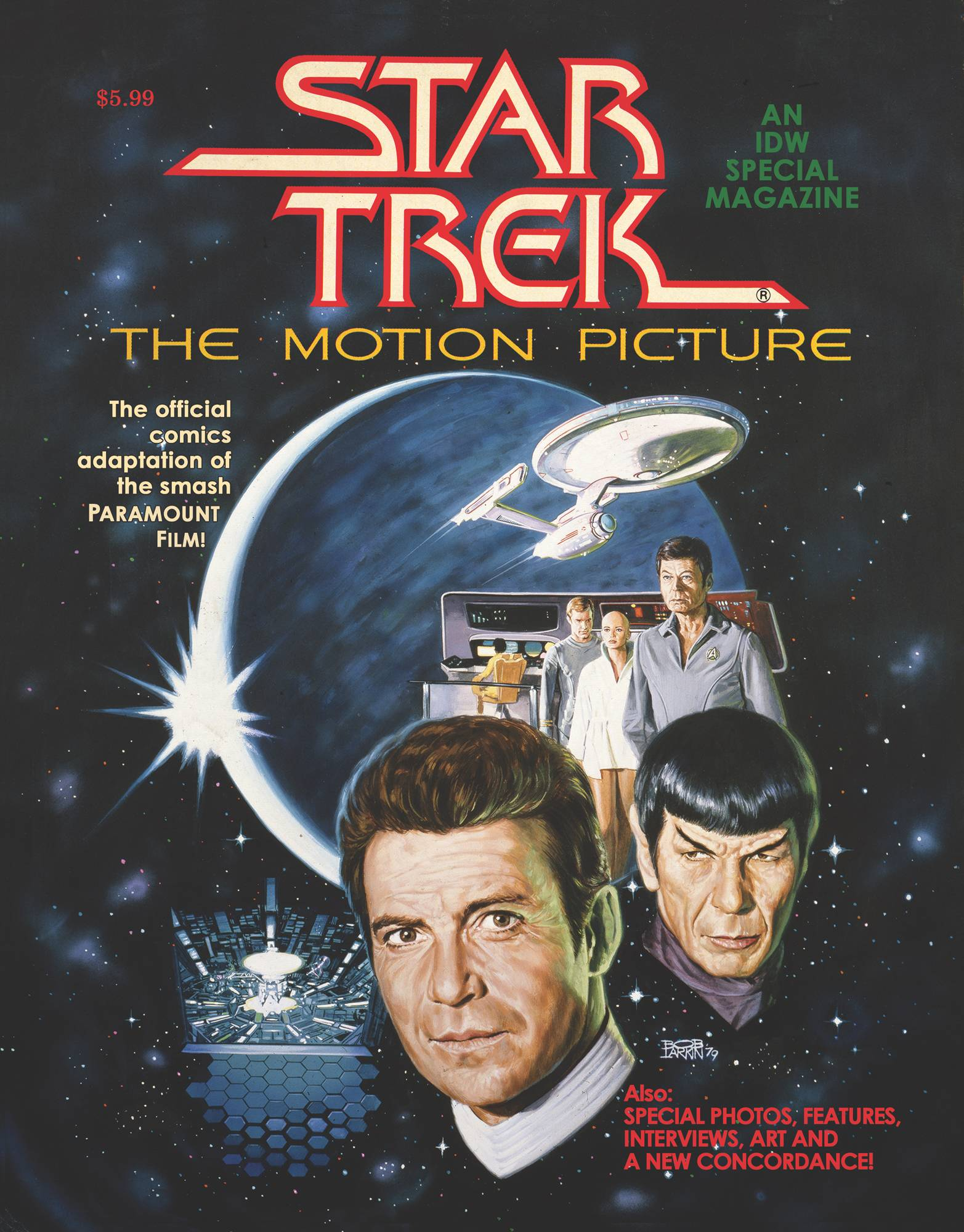 STAR TREK MOTION PICTURE FACSIMILE ED