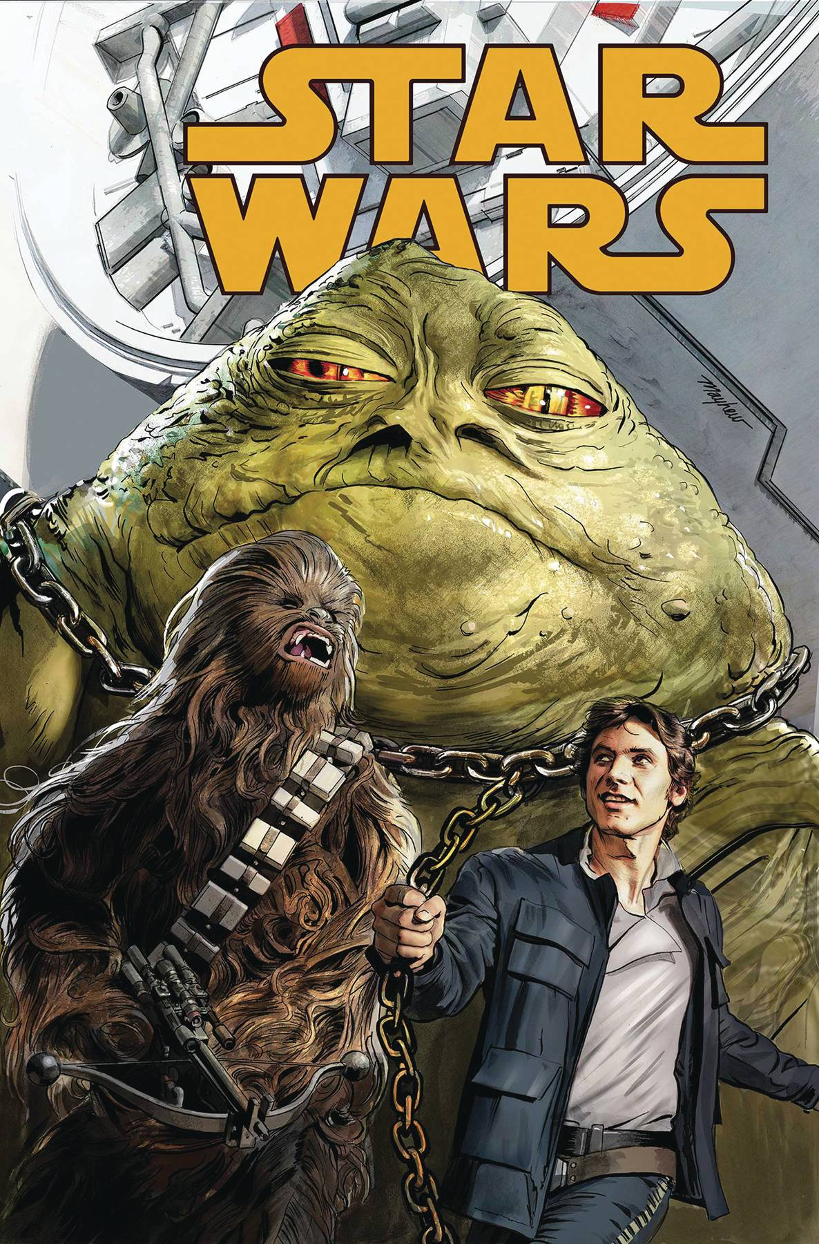 TRUE BELIEVERS STAR WARS HUTT RUN #1