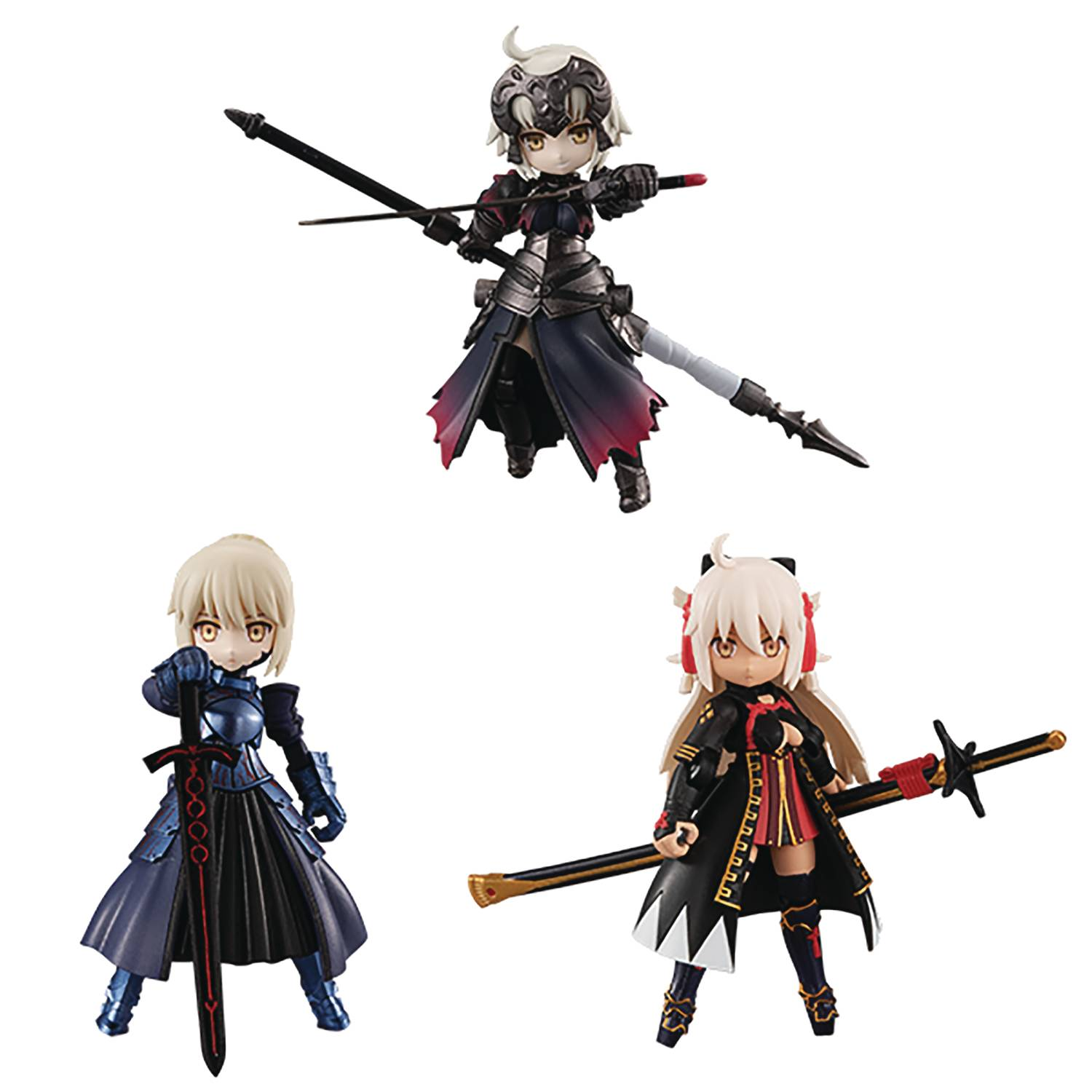 DESKTOP ARMY FATE GRAND ORDER NO 4 3PC DISPLAY