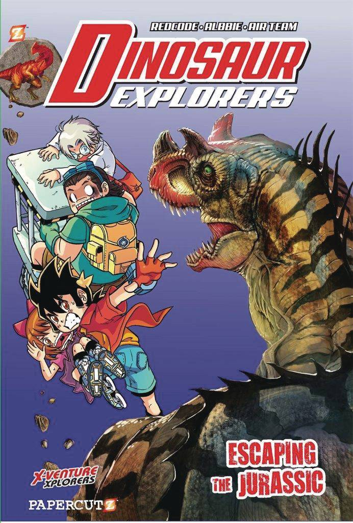 DINOSAUR EXPLORERS HC VOL 06 ESCAPING THE JURASSIC
