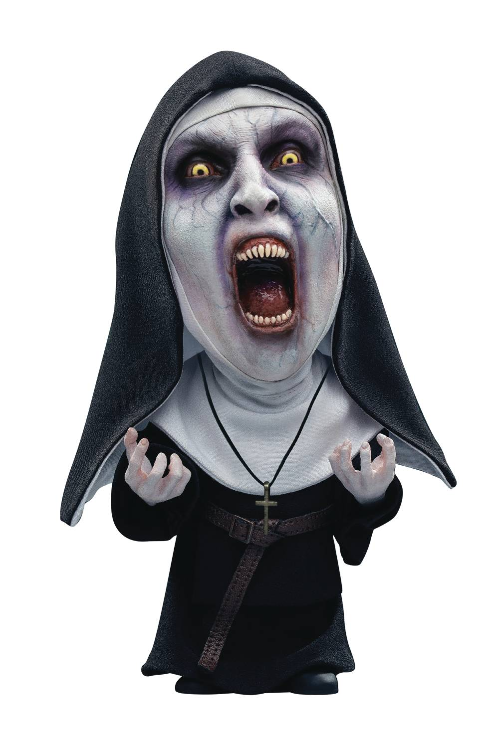 THE NUN VALAK OPEN MOUTH DEFO REAL SOFT VINYL STATUE  (