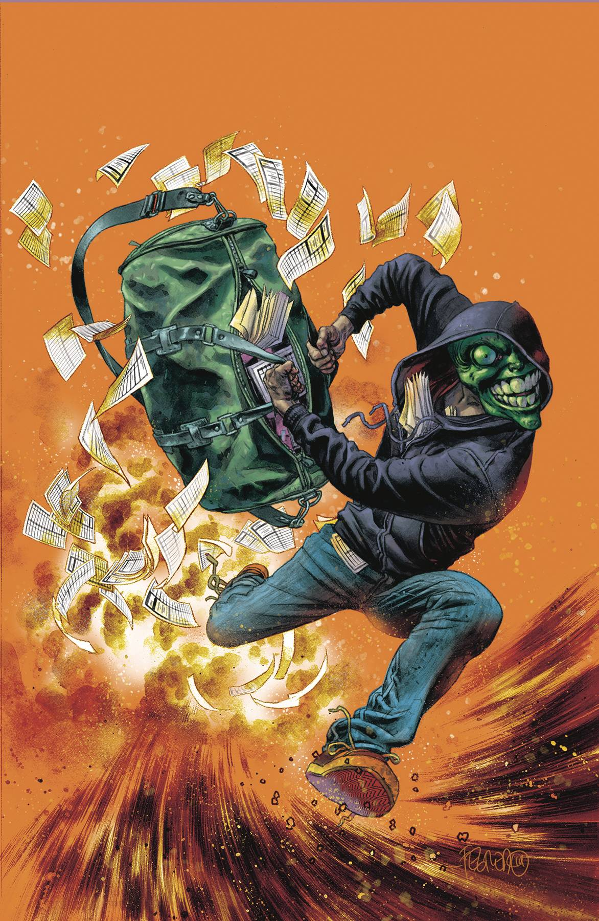 MASK I PLEDGE ALLEGIANCE TO THE MASK #4 (OF 4) CVR B FEGREDO