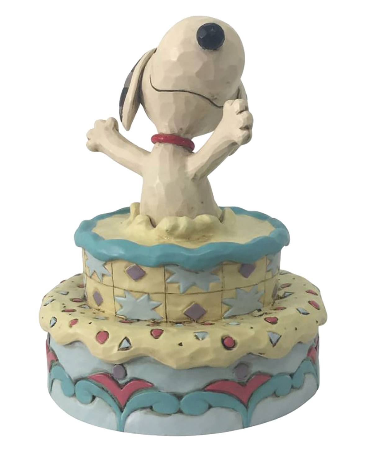 CHARLIE BROWN SNOOPY JUMPING OUT OF CAKE FIGURE
