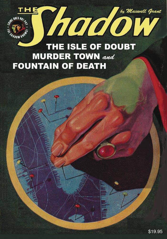 SHADOW NOVEL SC VOL 148 ISLE OF DOUBT MURDER TOWN