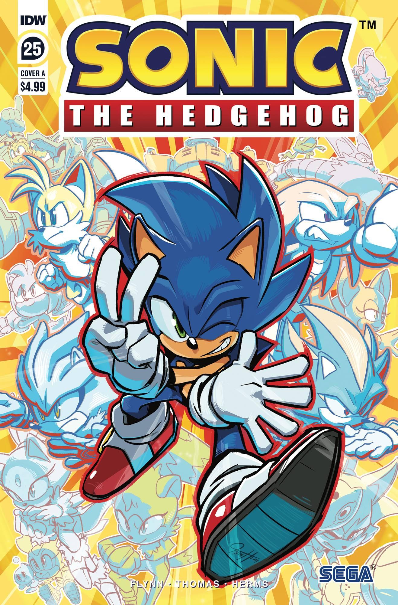 Nov190580 Sonic The Hedgehog 25 Cvr A Hesse Previews World