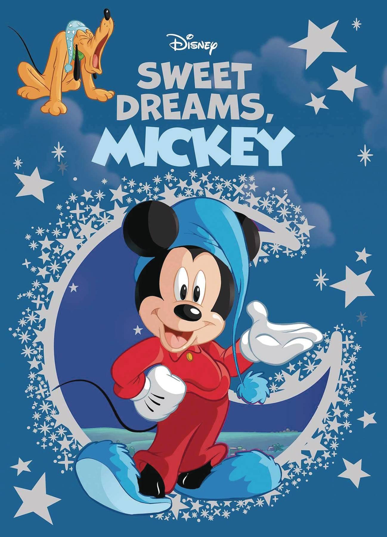 Nov191840 Disney Sweet Dreams Mickey Hc Previews World