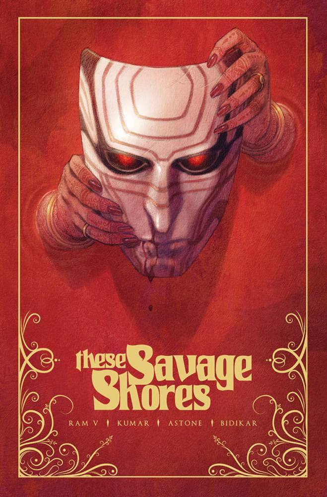 LCSD 2019 THESE SAVAGE SHORES TP VOL 01 GOLD EDITION (MR)