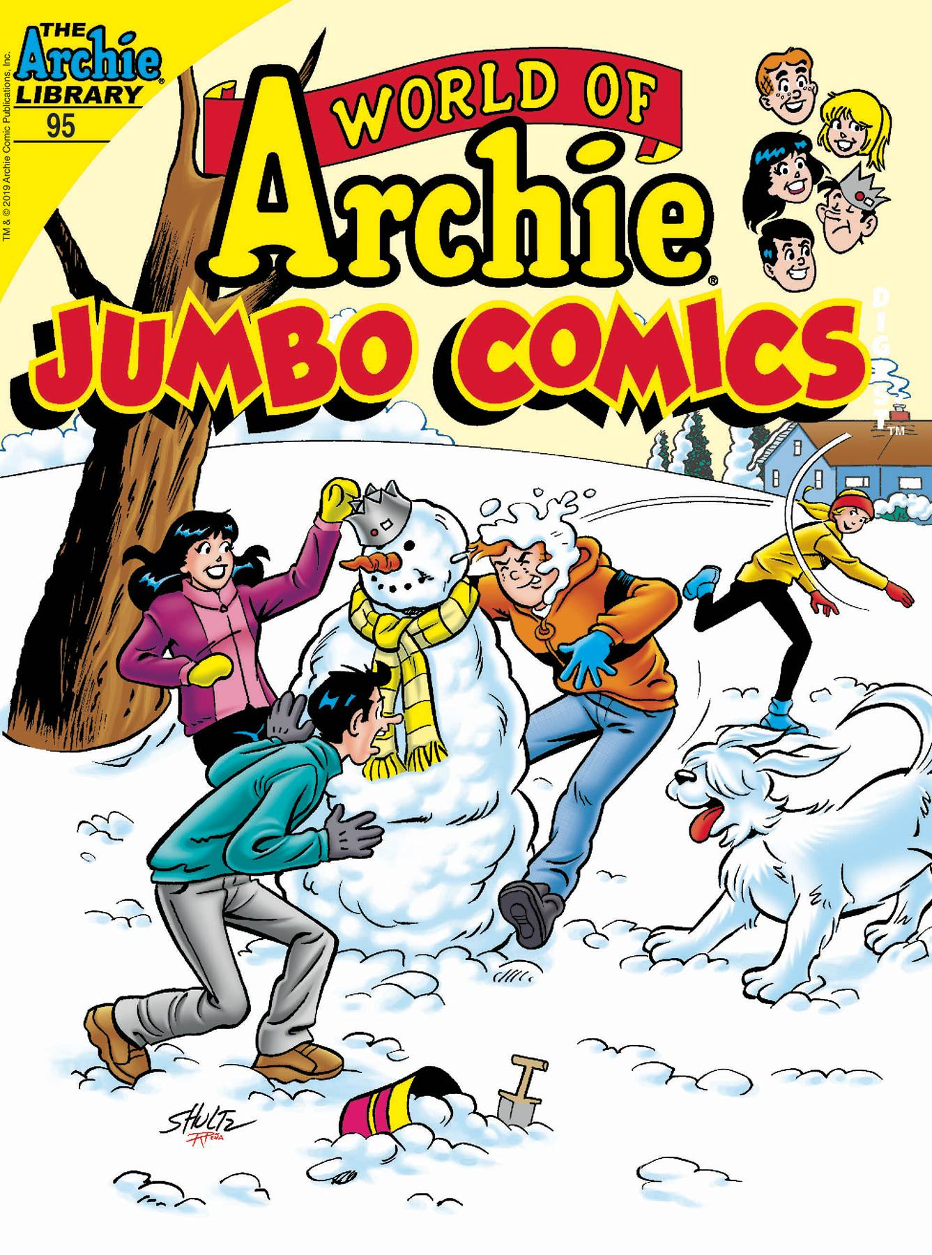 WORLD OF ARCHIE JUMBO COMICS DIGEST #95