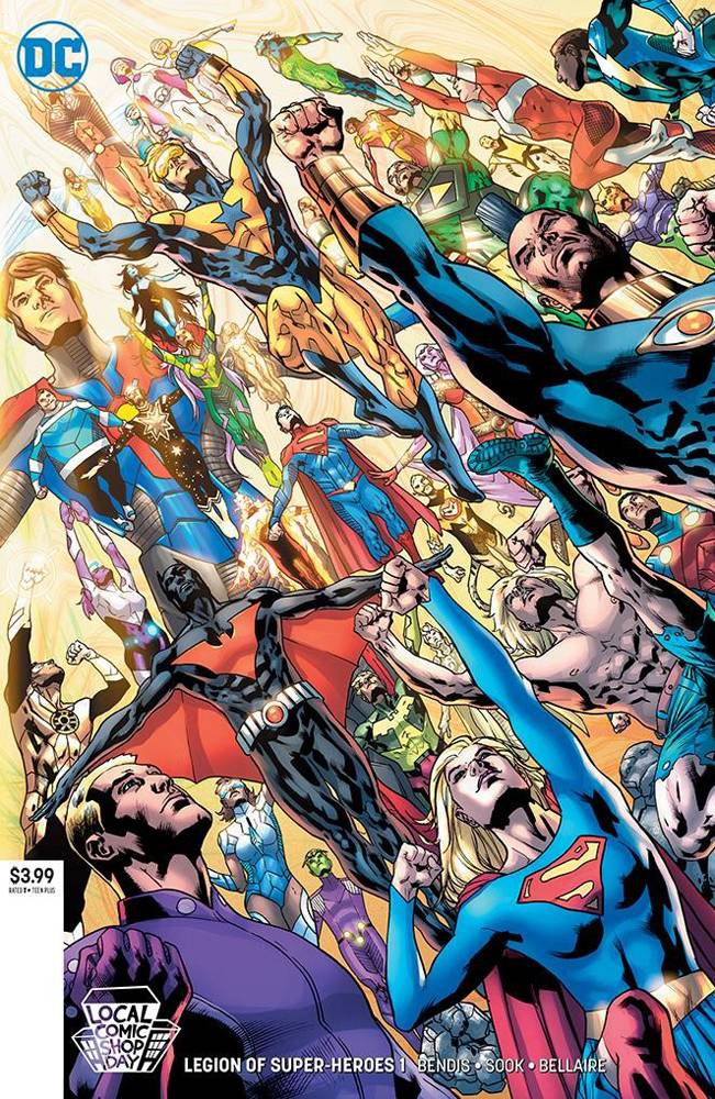 LCSD 2019 LEGION OF SUPER HEROES #1