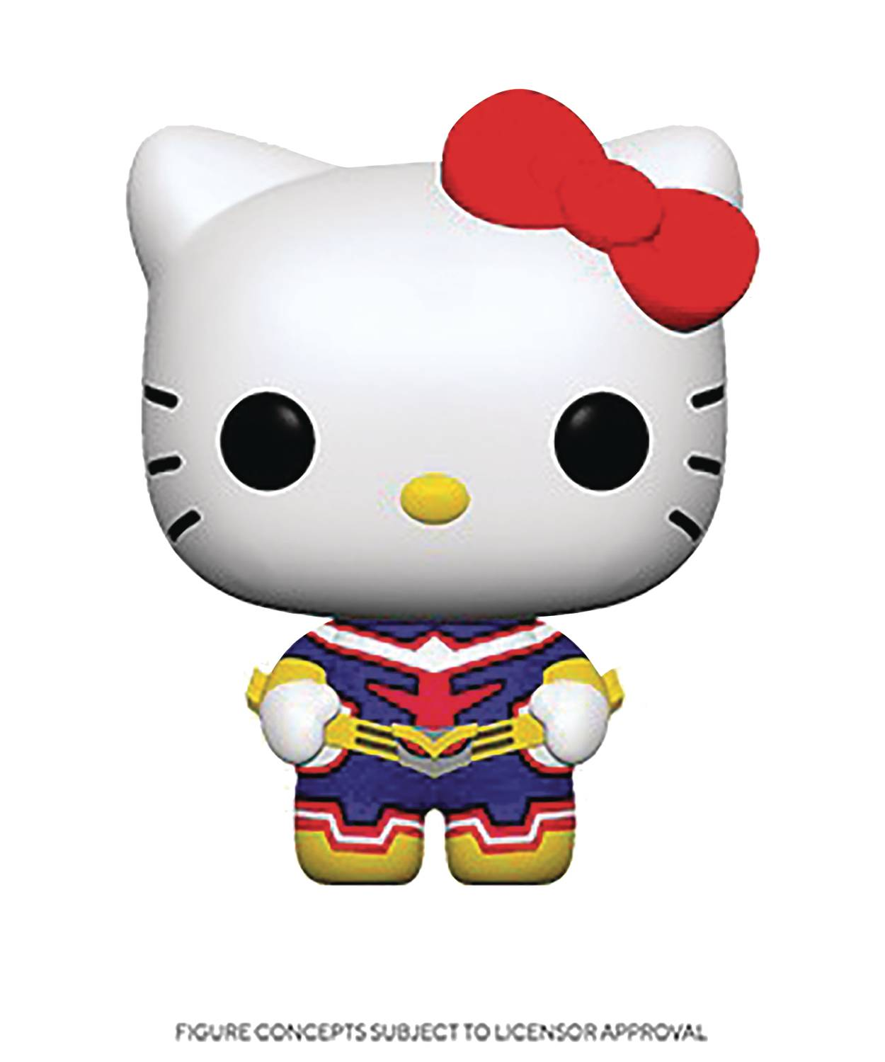 POP ANIMATION SANMHA H KITTY ALL MIGHT VIN FIG