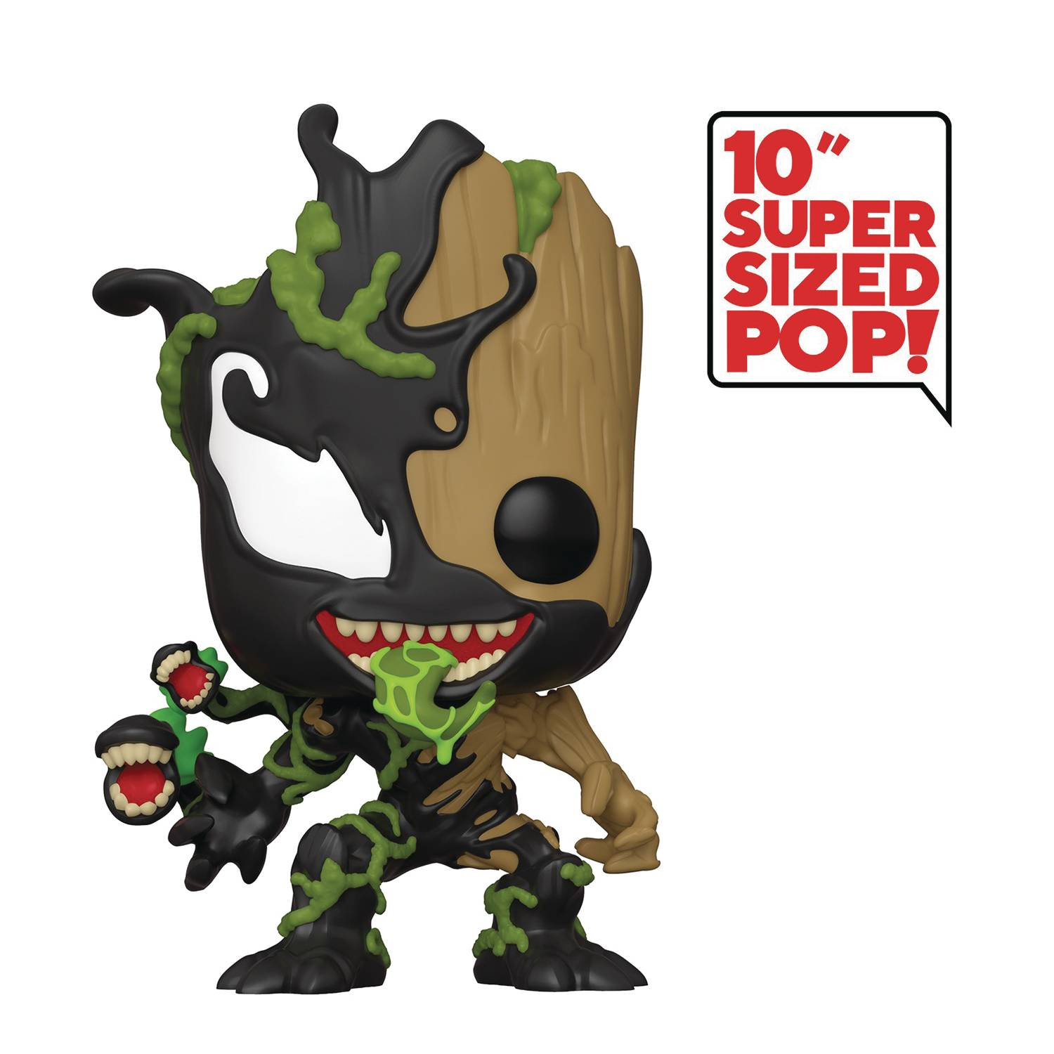 POP MARVEL MAX VENOM GROOT 10IN VIN FIG