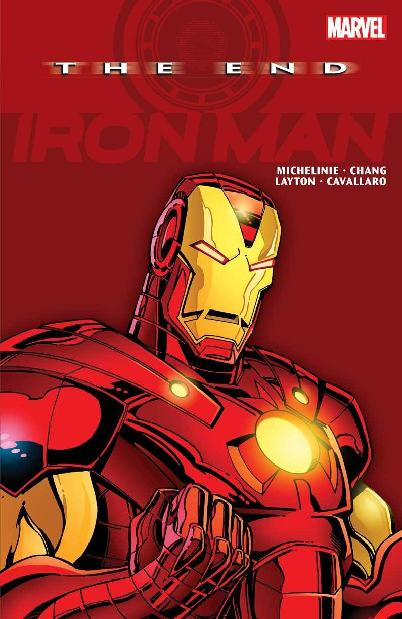IRON MAN TP THE END NEW PTG