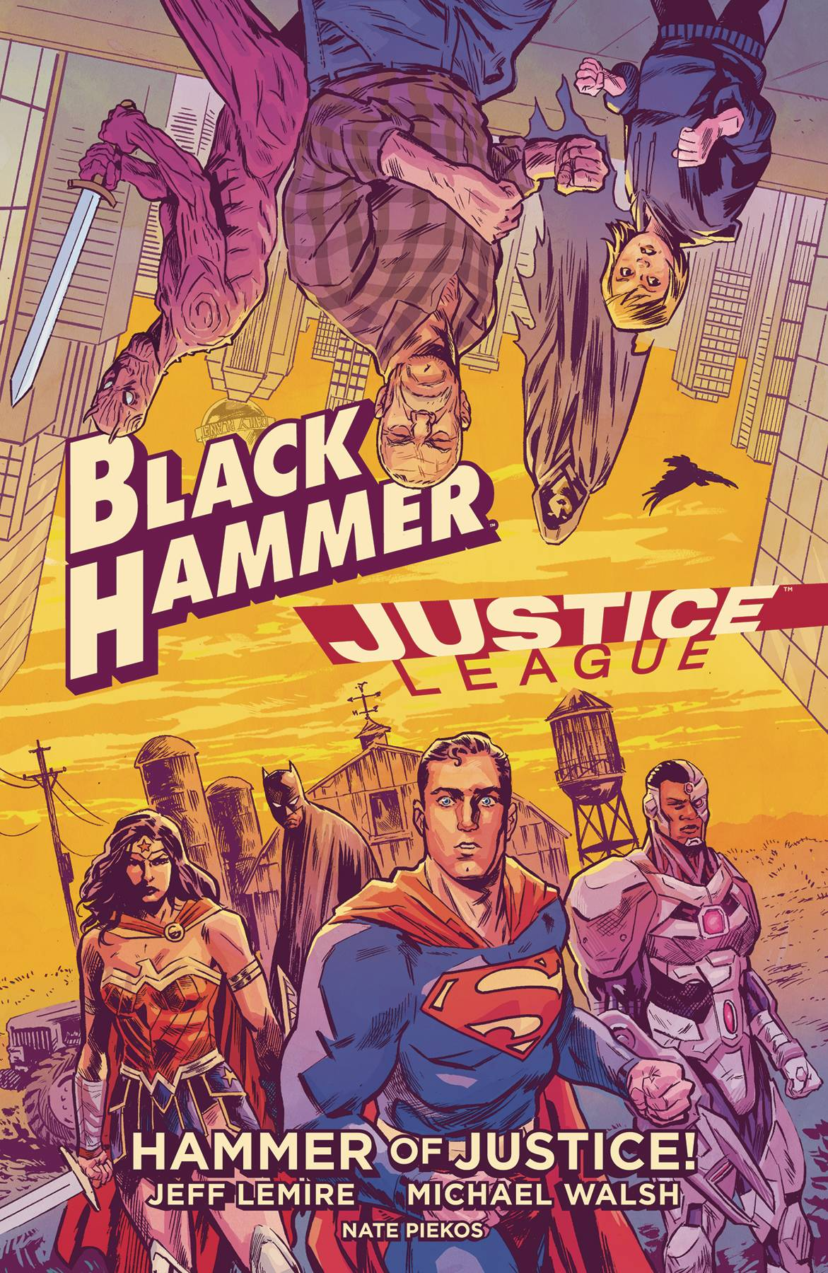 BLACK HAMMER JUSTICE LEAGUE HAMMER OF JUSTICE HC (NOV190199)