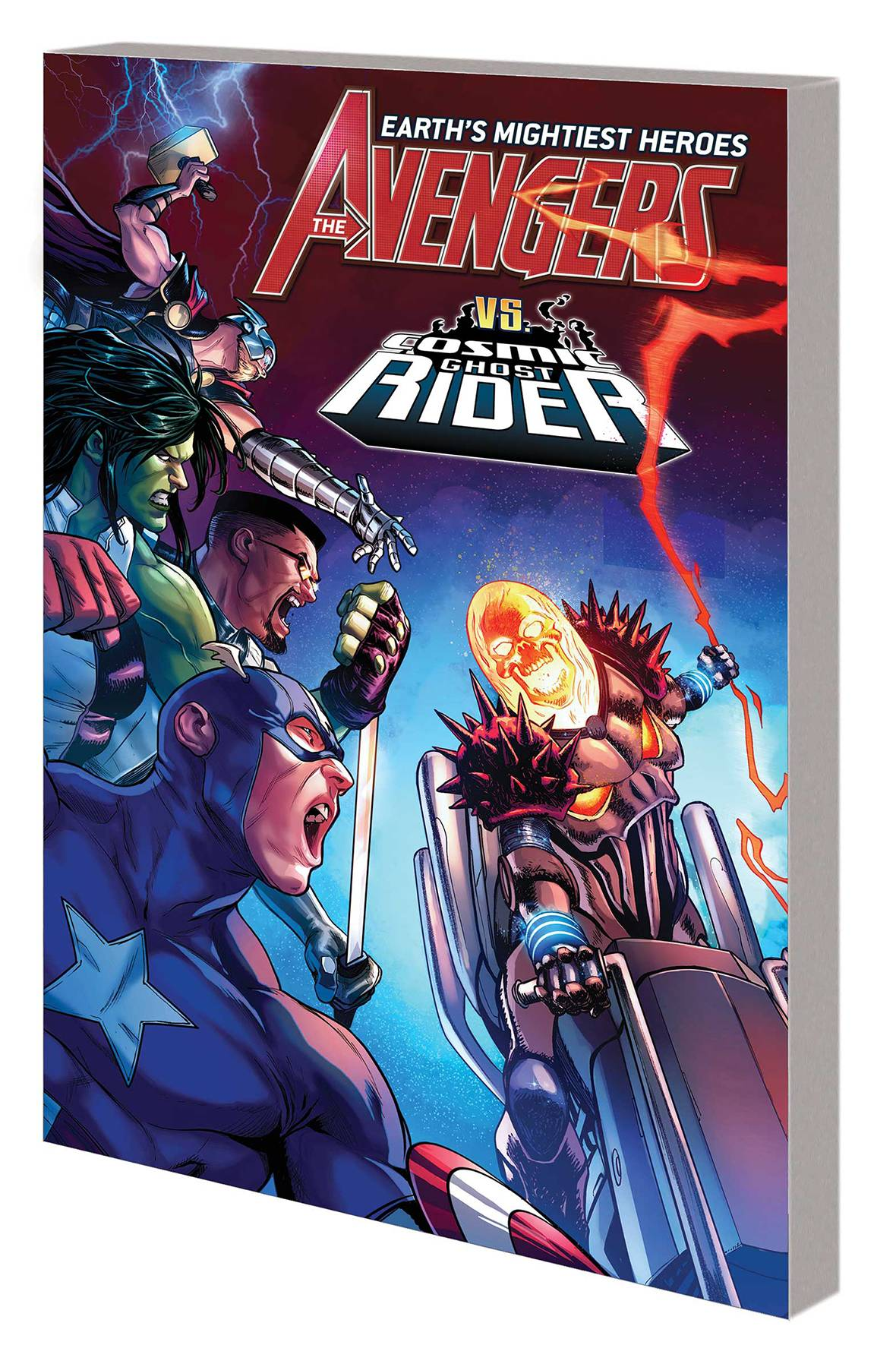 AVENGERS BY JASON AARON TP VOL 05 CHALLENGE OF GHOST RIDERS