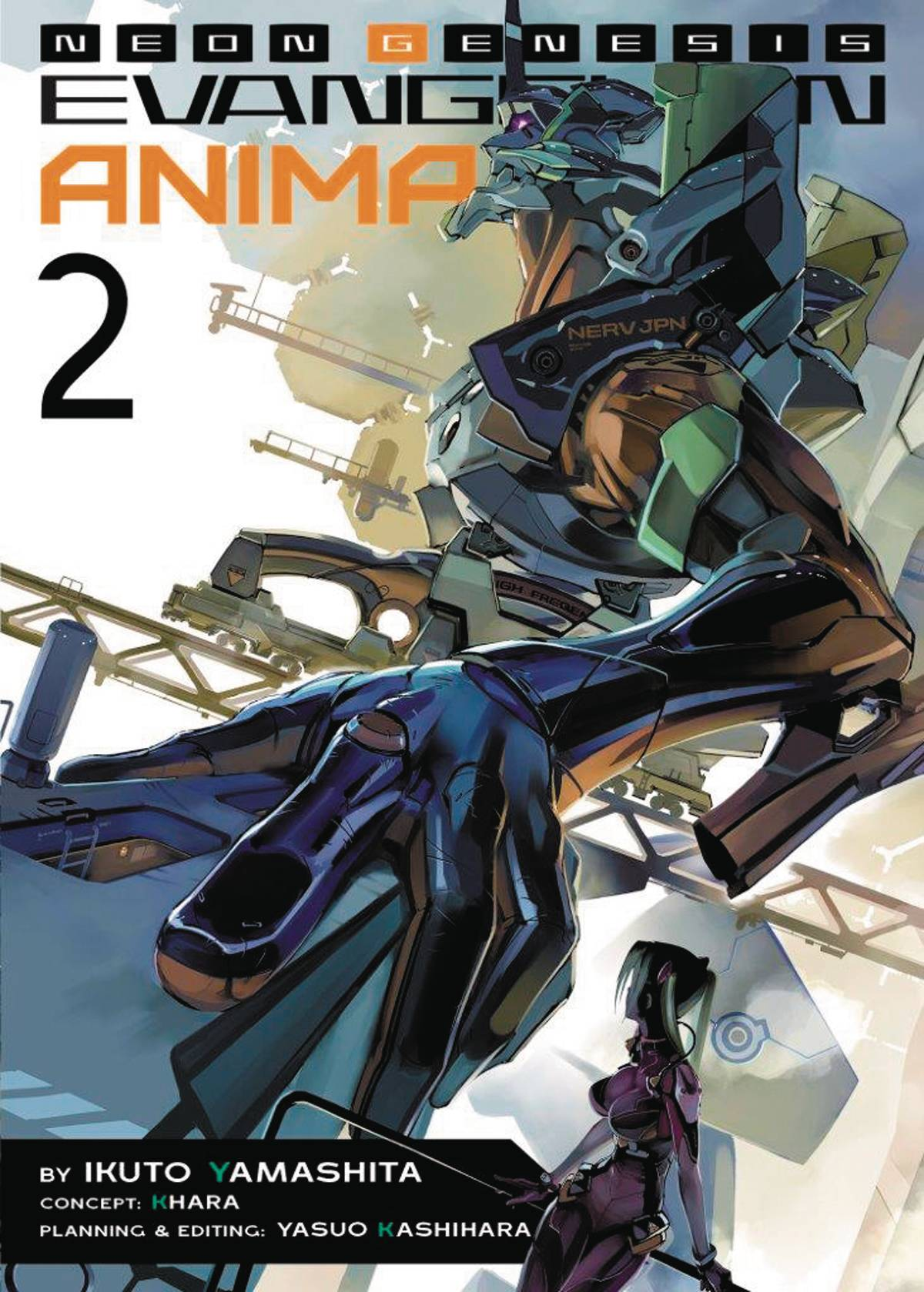 NEON GENESIS EVANGELION ANIMA LIGHT NOVEL SC VOL 02