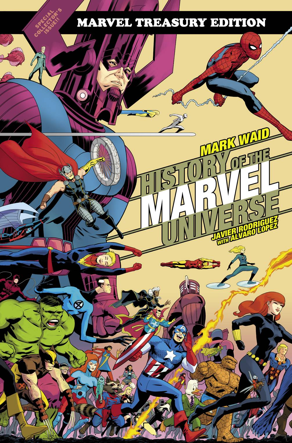 HISTORY OF MARVEL UNIV TREASURY ED TP RODRIGUEZ CVR DM VAR