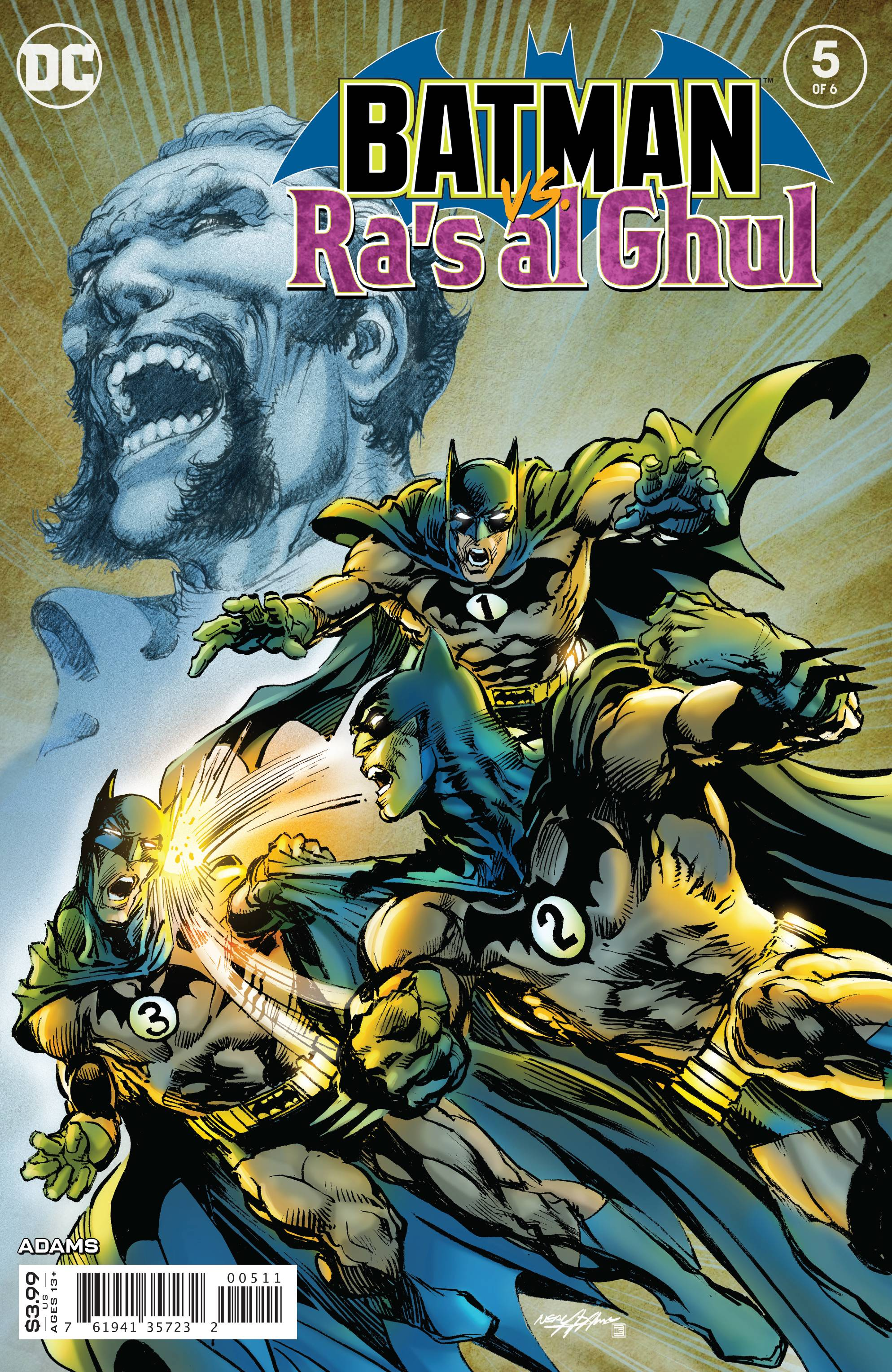 BATMAN VS RAS AL GHUL #5 (OF 6) (RES)