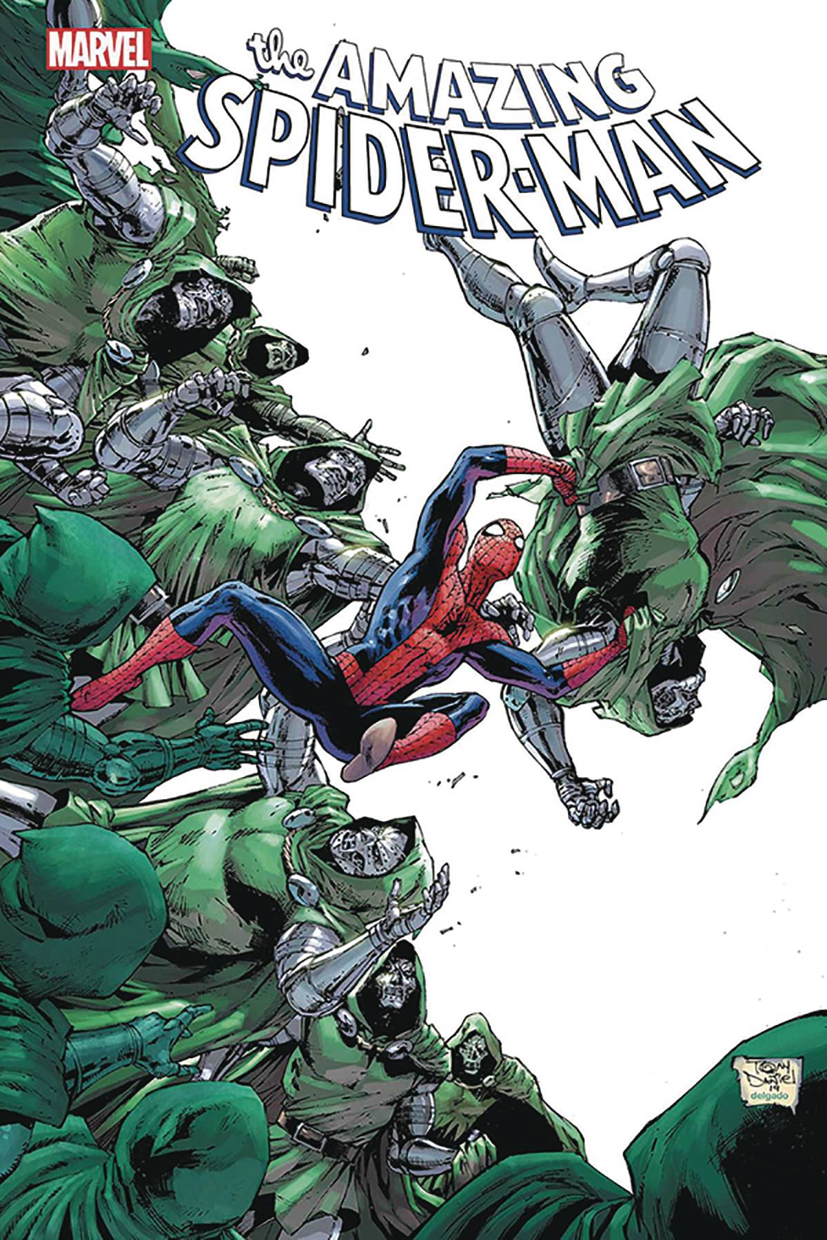 DF AMAZING SPIDER-MAN #35 SGN SPENCER