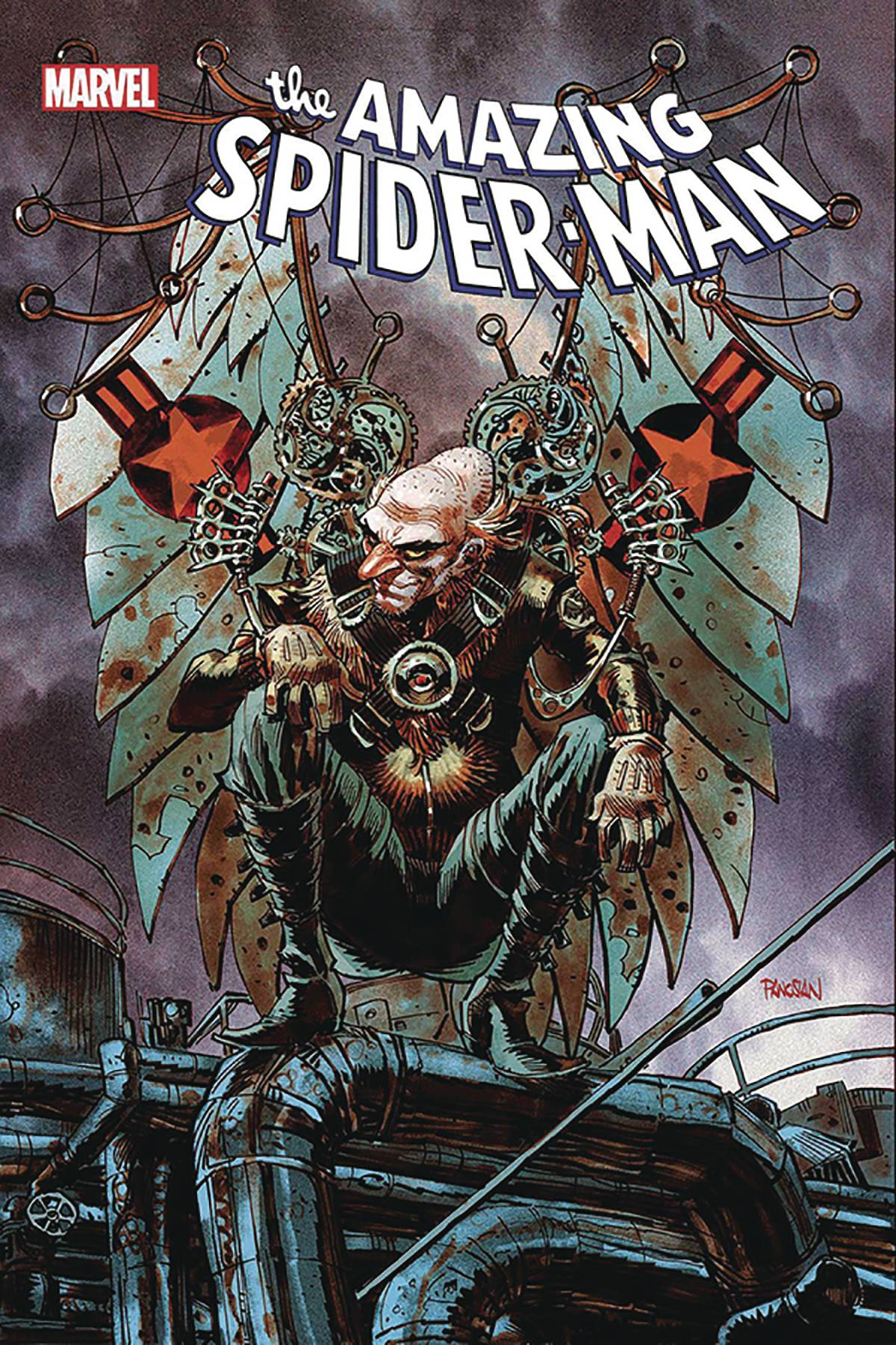 DF AMAZING SPIDER-MAN #36 SGN SPENCER