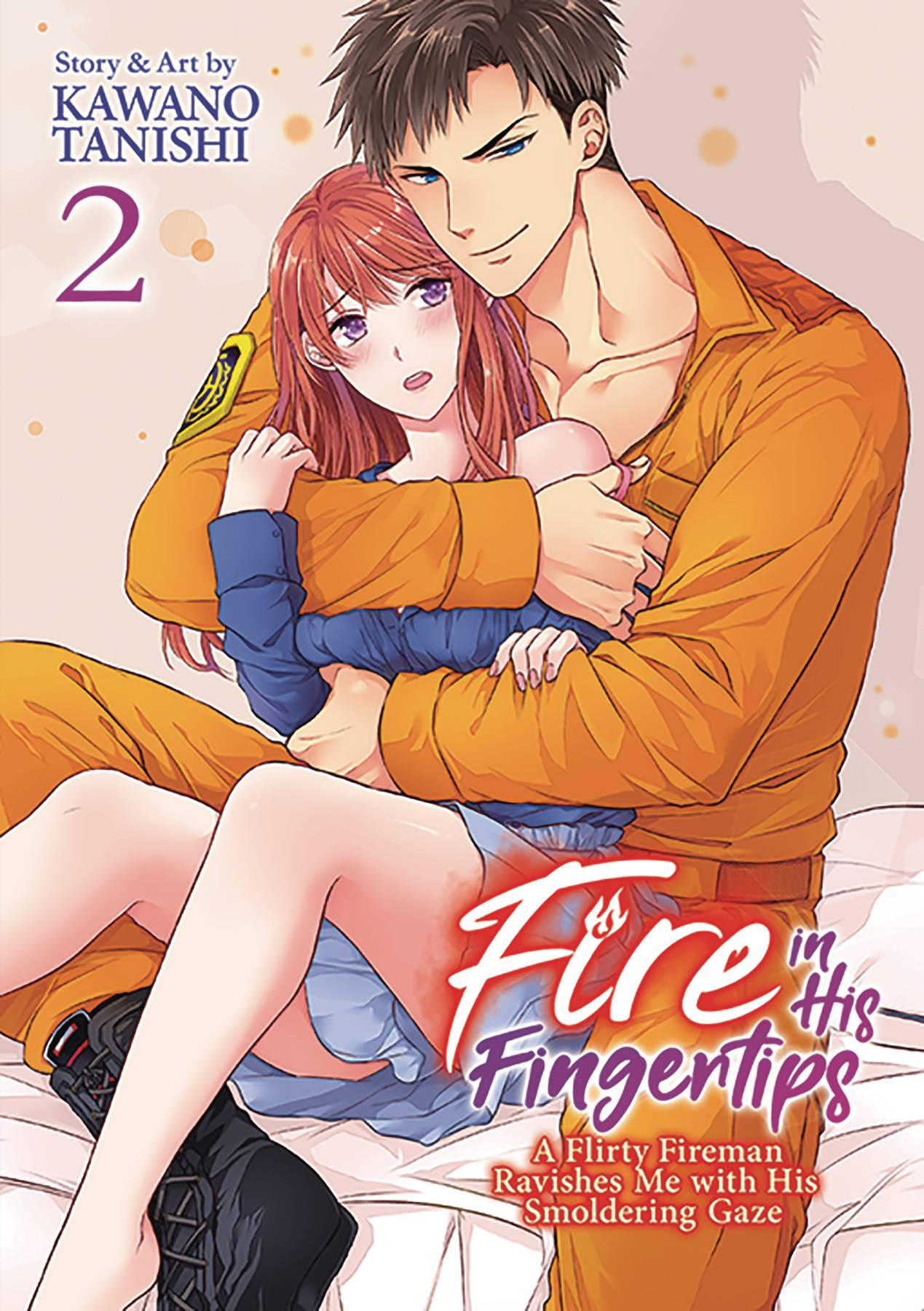 FIRE IN HIS FINGERTIPS FIREMAN SMOLDERING GAZE GN VOL 02 (MR