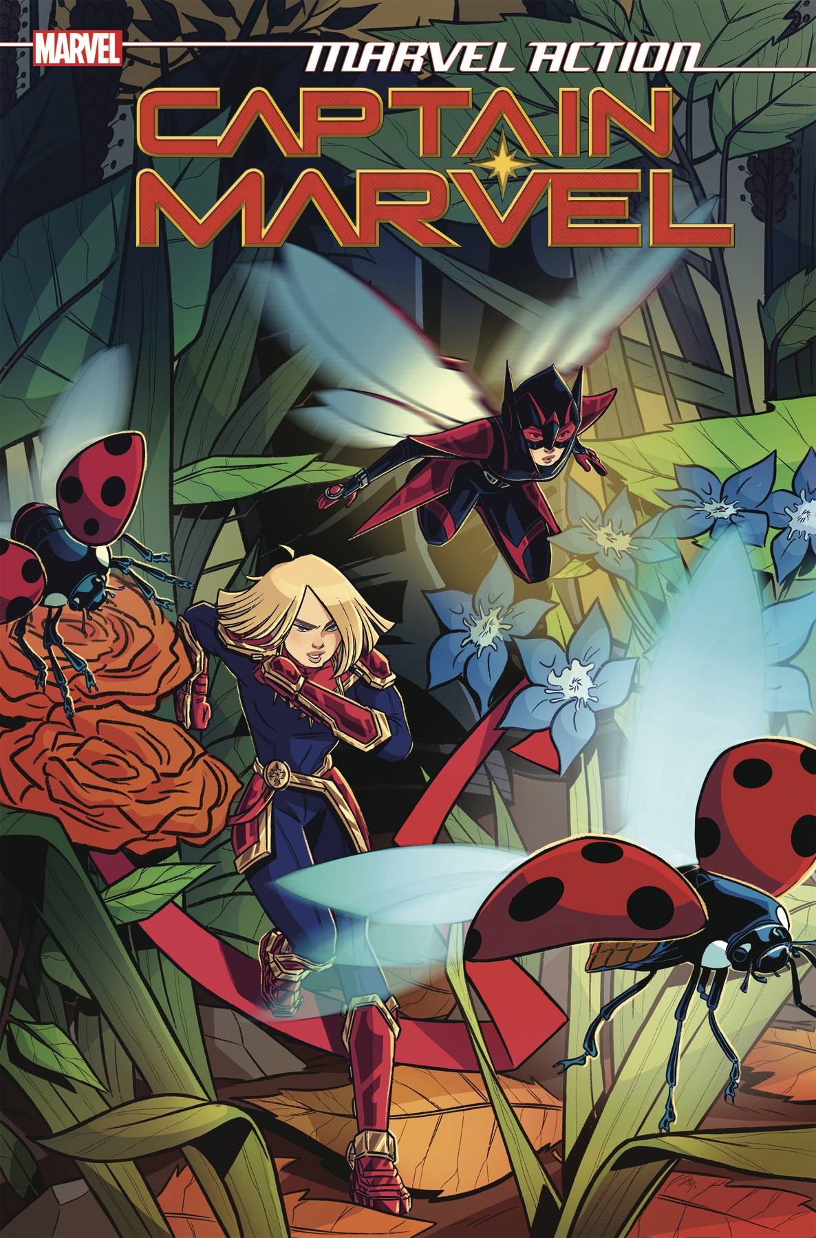 MARVEL ACTION CAPTAIN MARVEL #5 CVR A BOO
