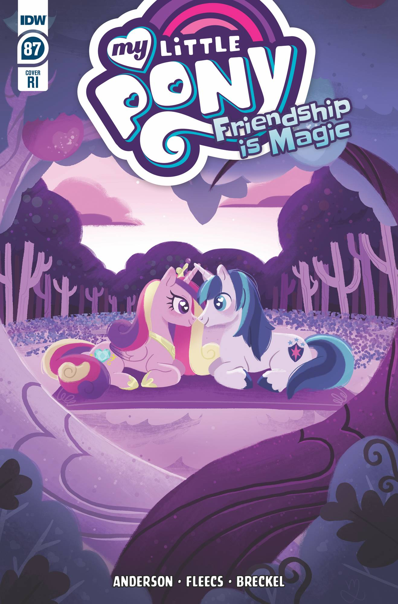 MY LITTLE PONY FRIENDSHIP IS MAGIC #87 10 COPY INCV LEVY (NE