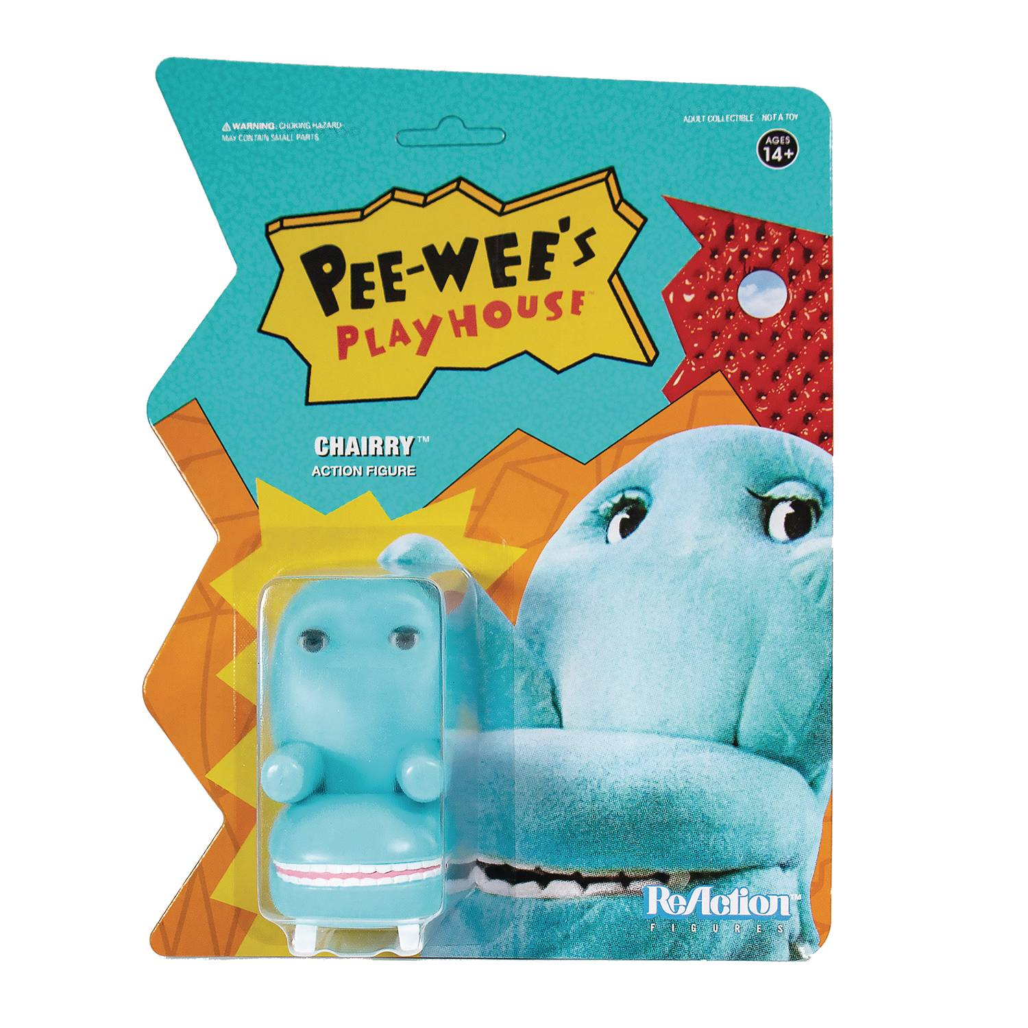 PEE WEES PLAYHOUSE CHAIRRY REACTION FIGURE