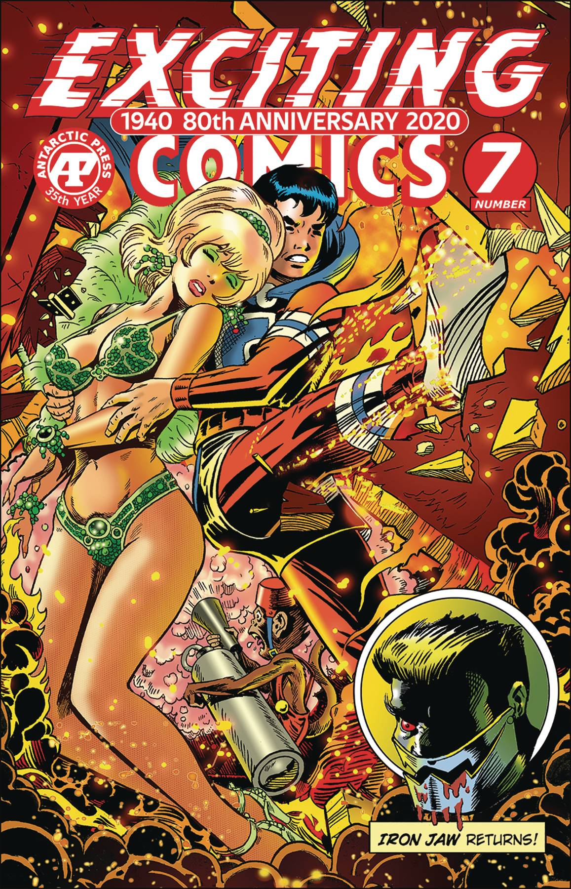 EXCITING COMICS #7 CVR B CRIMEBUSTER BACKDRAFT VAR